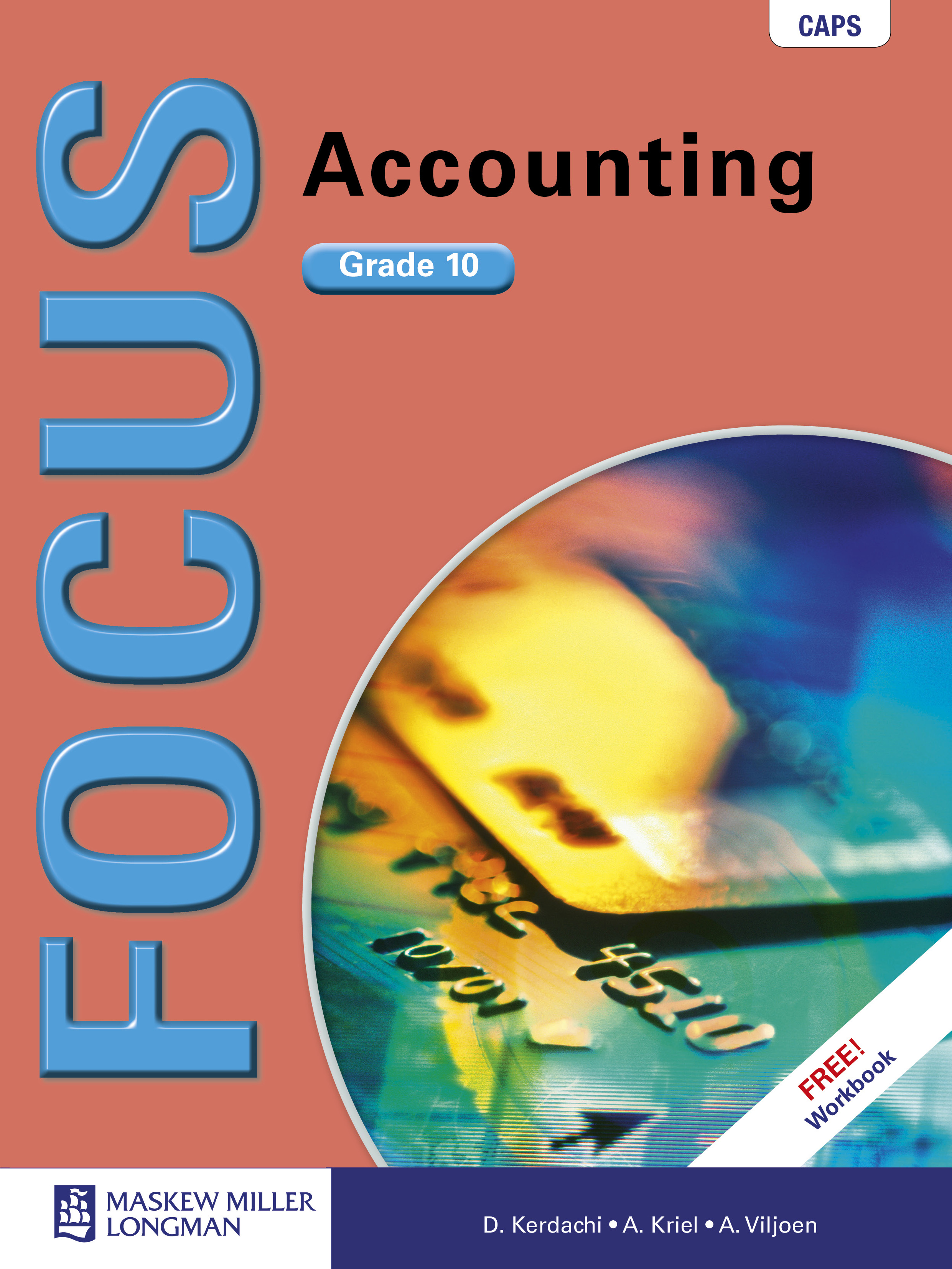 Picture of Focus accounting: Gr 10: Textbook