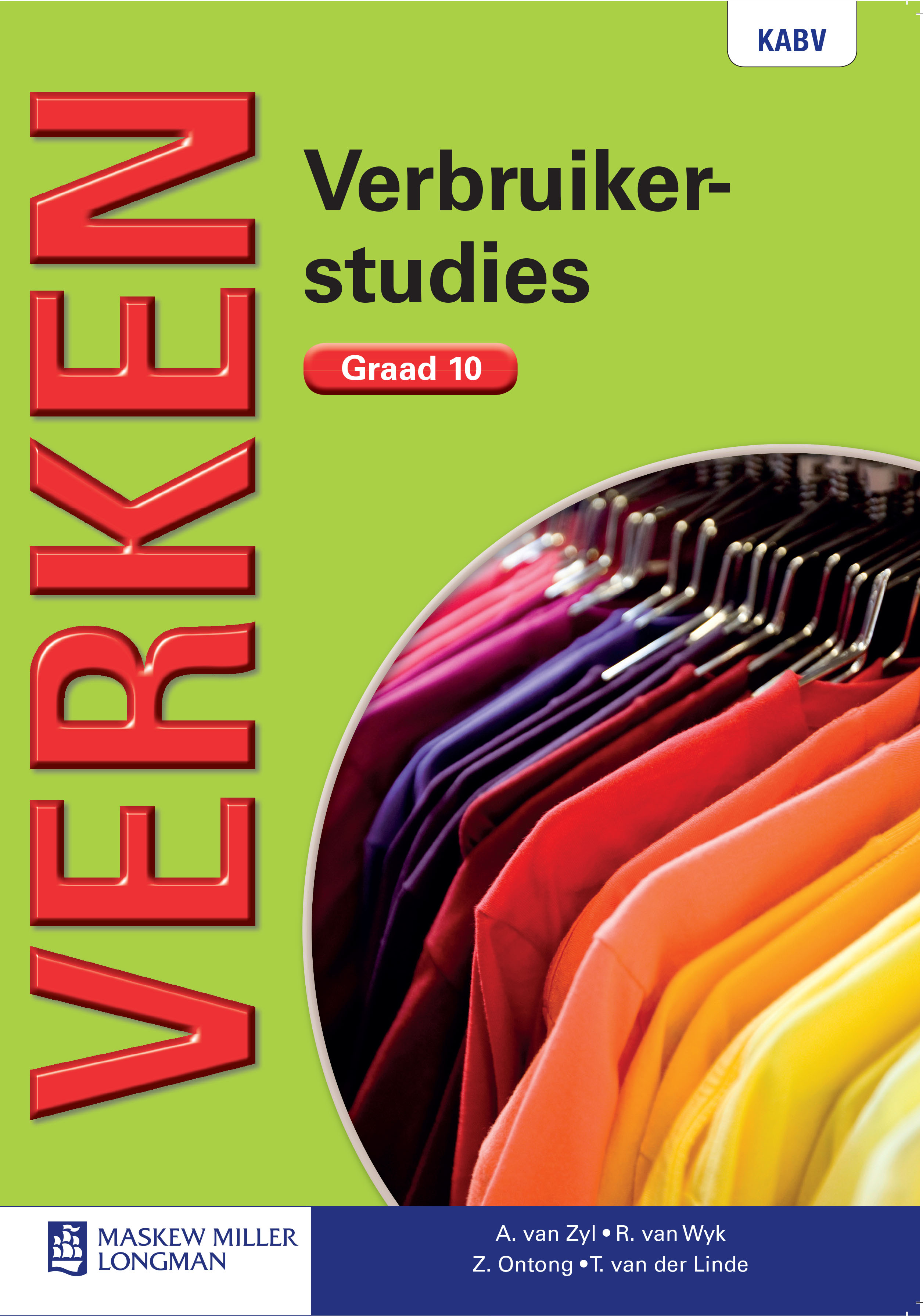 Picture of Verken verbruikerstudies: Gr 10: Textbook