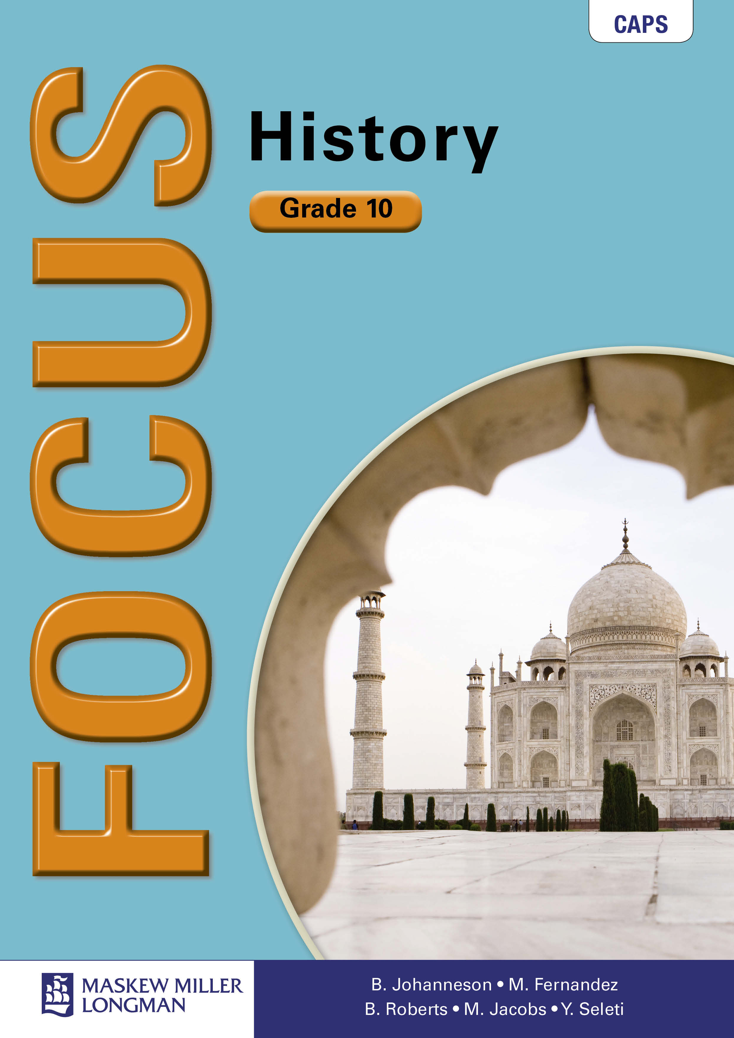 Picture of Focus history: Gr 10: Textbook