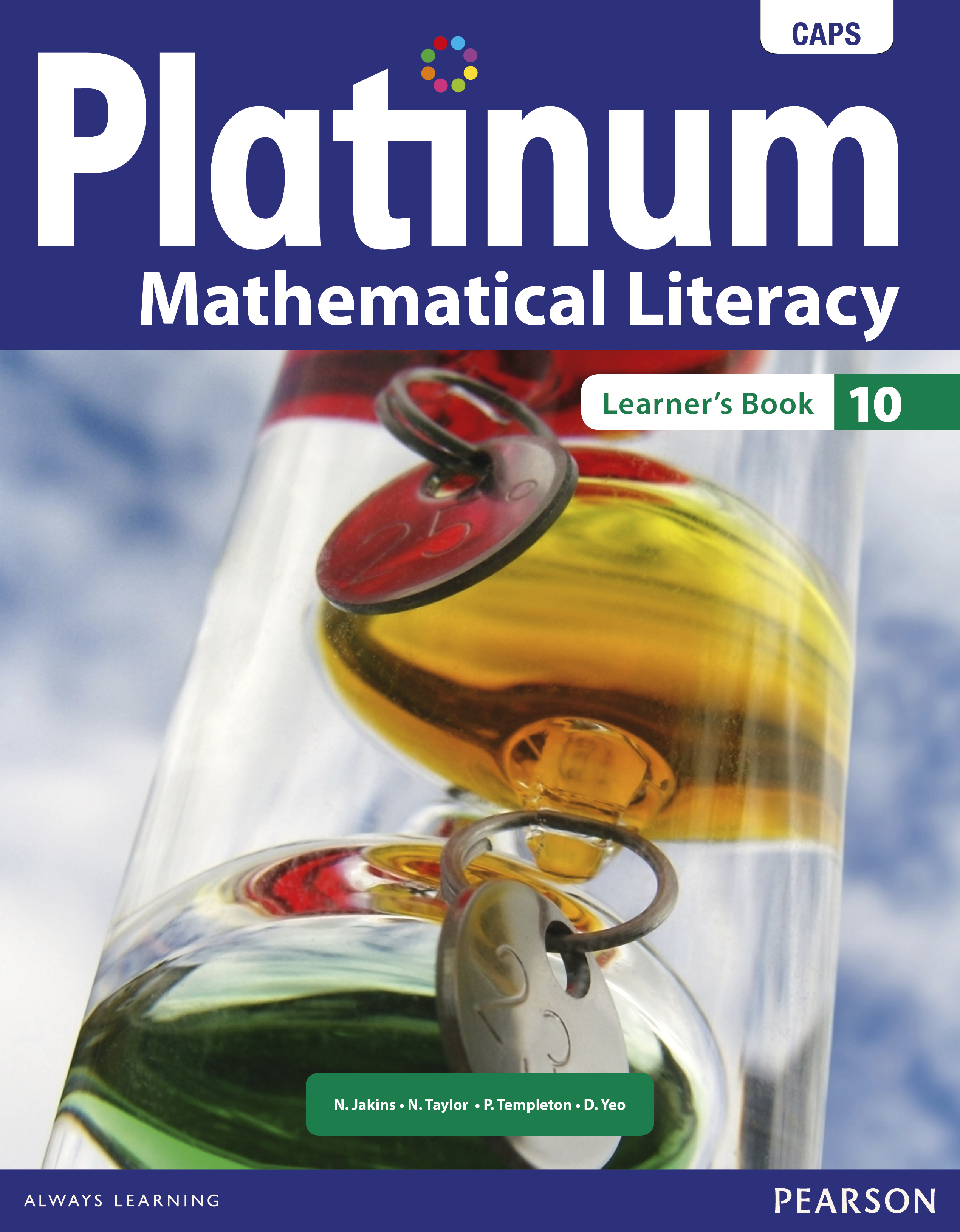 Picture of Platinum mathematical literacy: Gr 10: Textbook