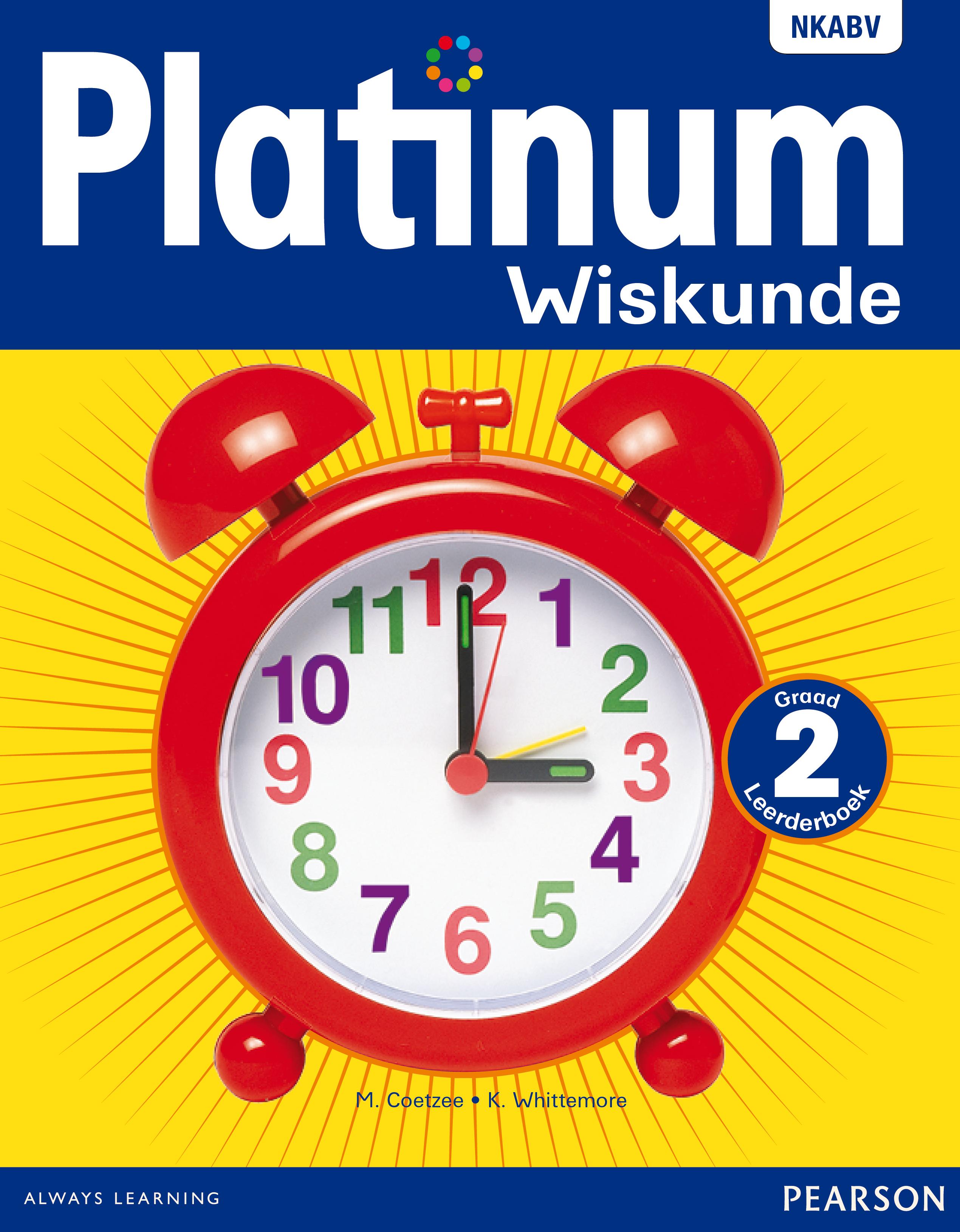 Picture of Platinum wiskunde: Gr 2: Leerdersboek