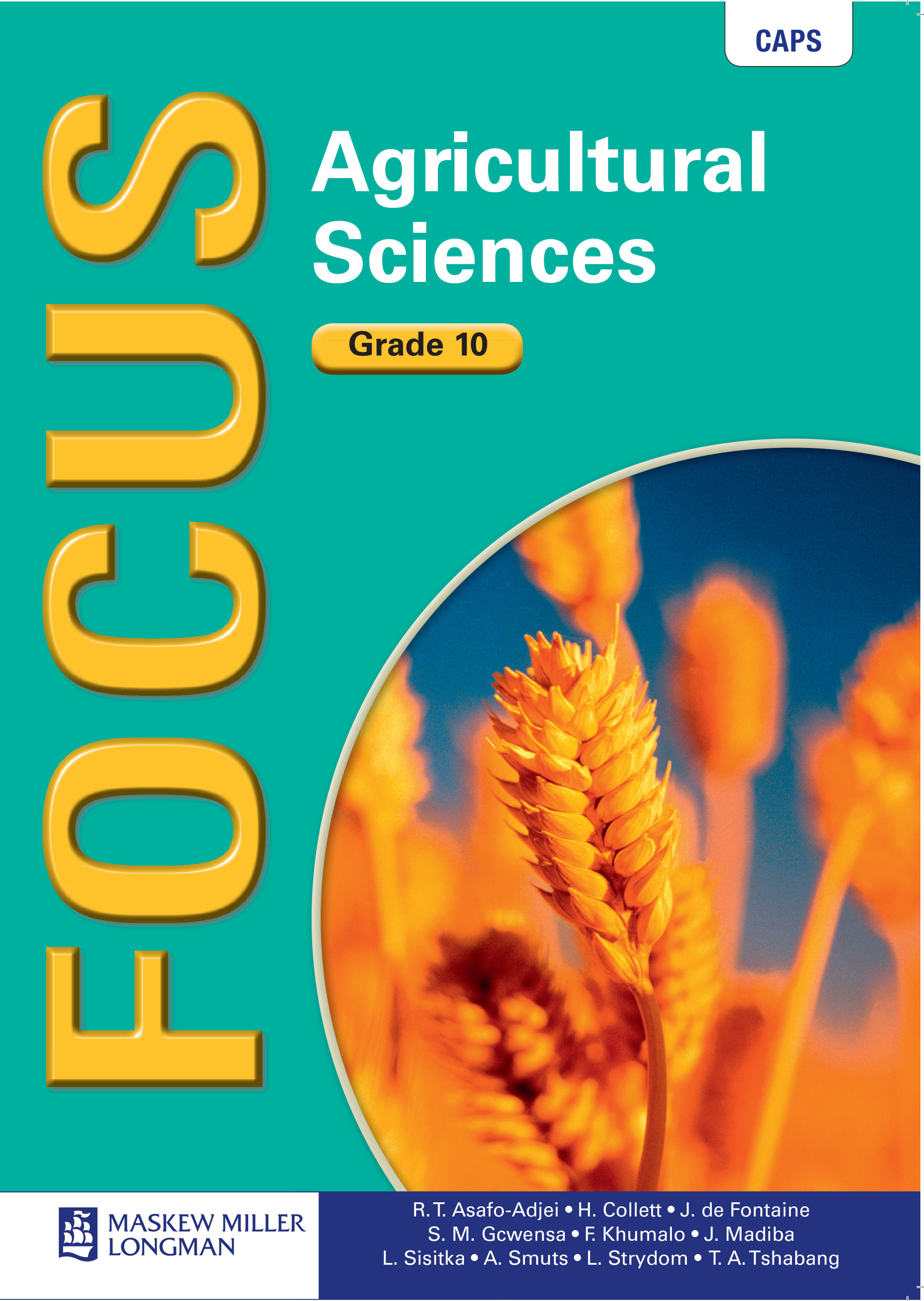 Picture of Focus agricultural sciences: Gr 10: Textbook