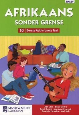 Picture of Afrikaans sonder grense: Gr 10: Handboek : Eerste addisionele taal