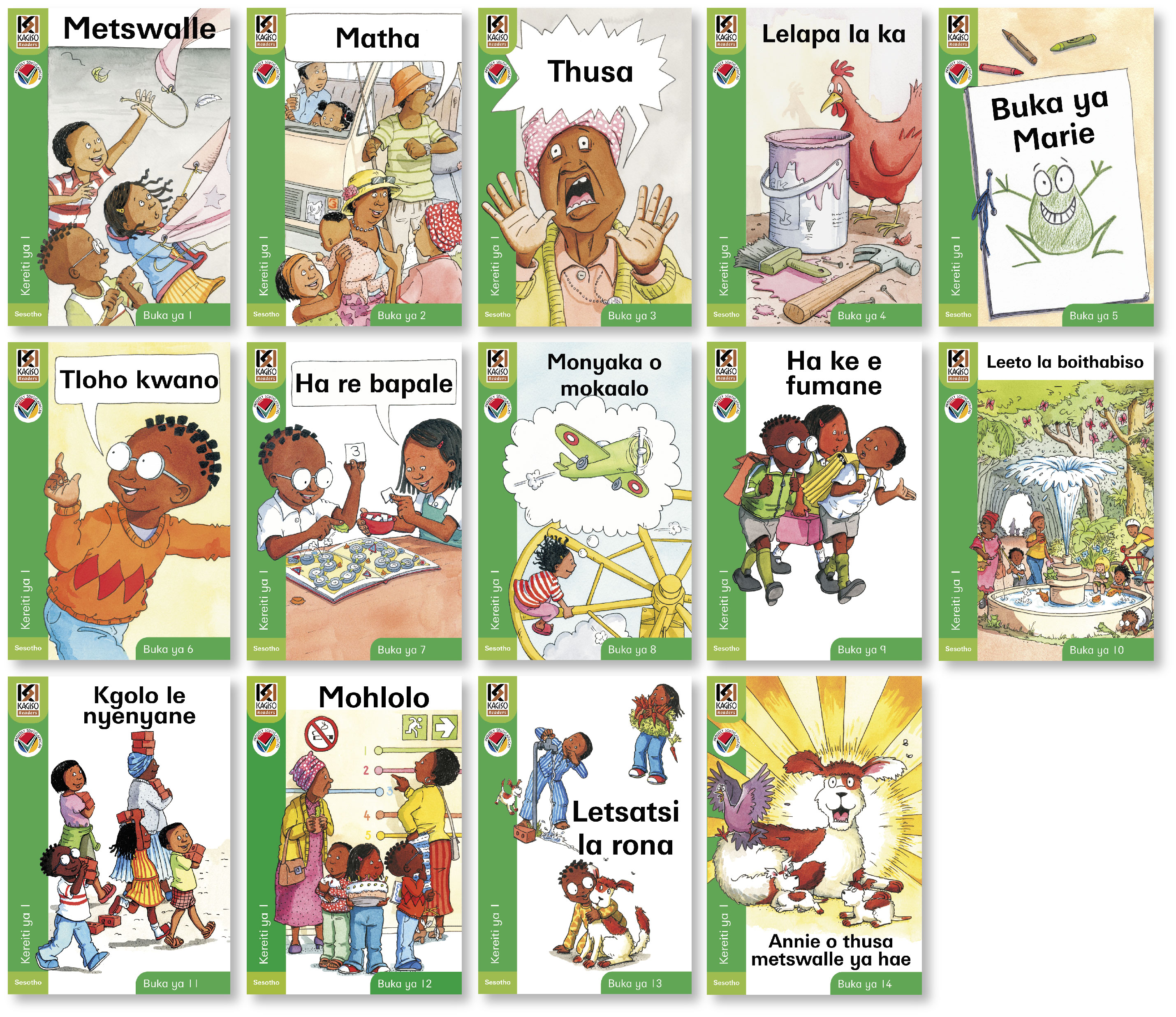 Picture of Kagiso readers: Gr 1: Reader pack : Home language
