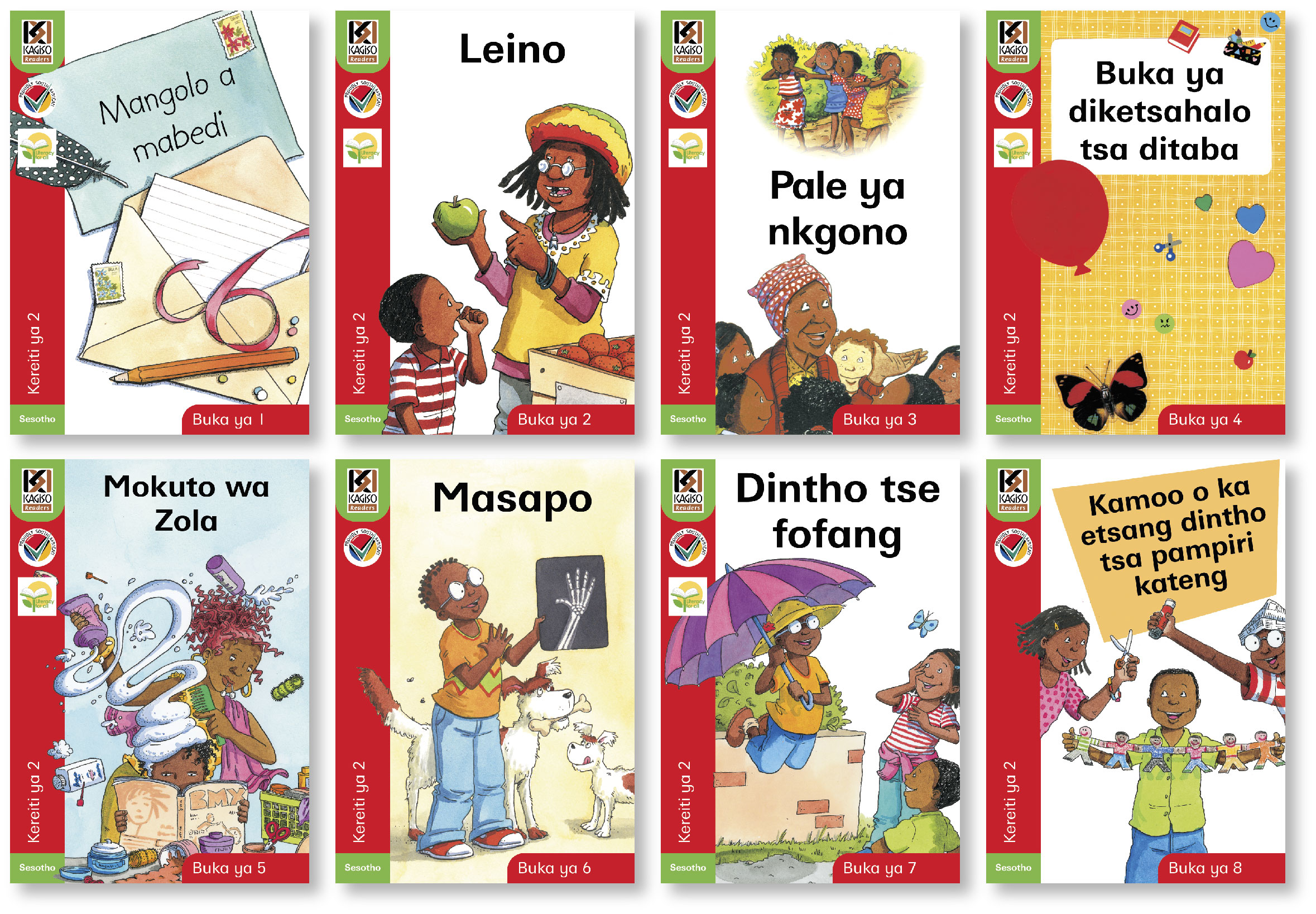 Picture of Kagiso readers: Gr 2: Reader pack : Home language