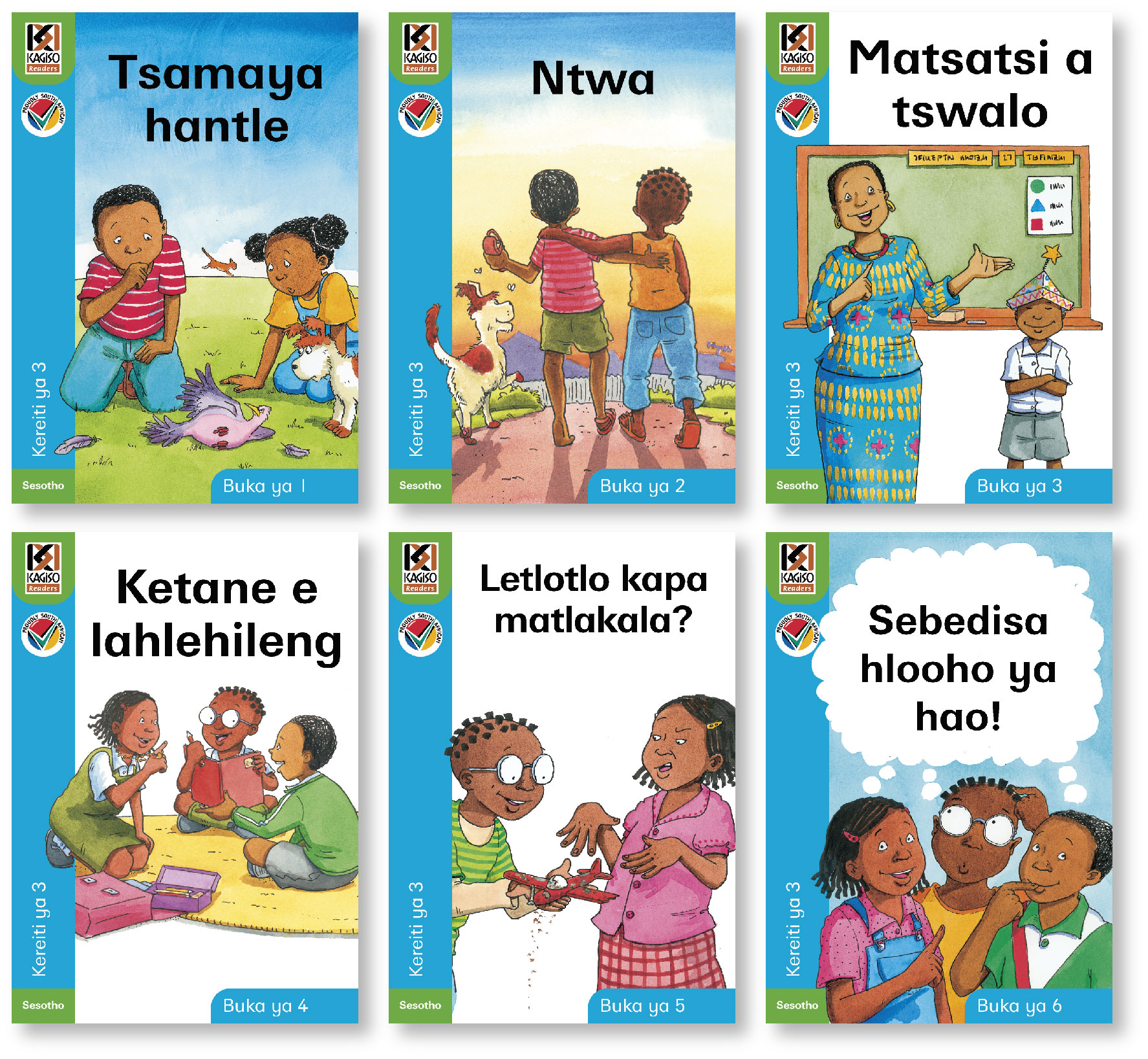 Picture of Kagiso Readers Pack: Kereiti 2