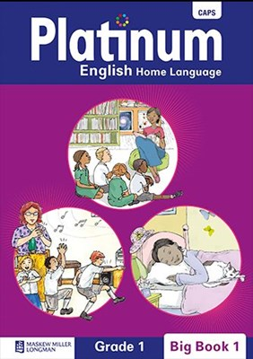 Picture of Platinum English home language: Grade 1: Grade 1 : Big book pack pack of 4