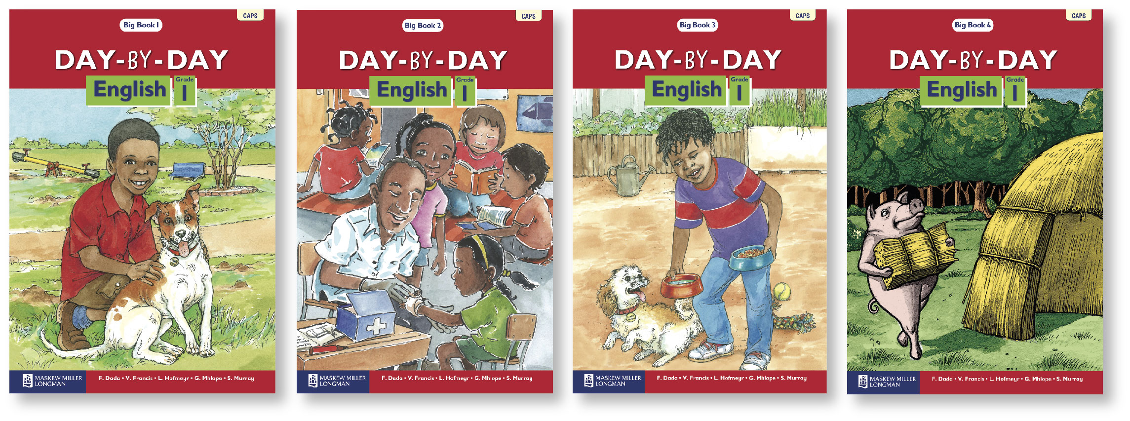 Picture of Day-by-day English: Gr 1: Big book pack : First additional language