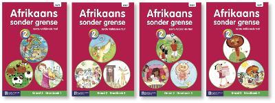 Picture of Afrikaans sonder grense eerste addisionele taal: Graad 2: Grootboek pakket (4 grootboeke)