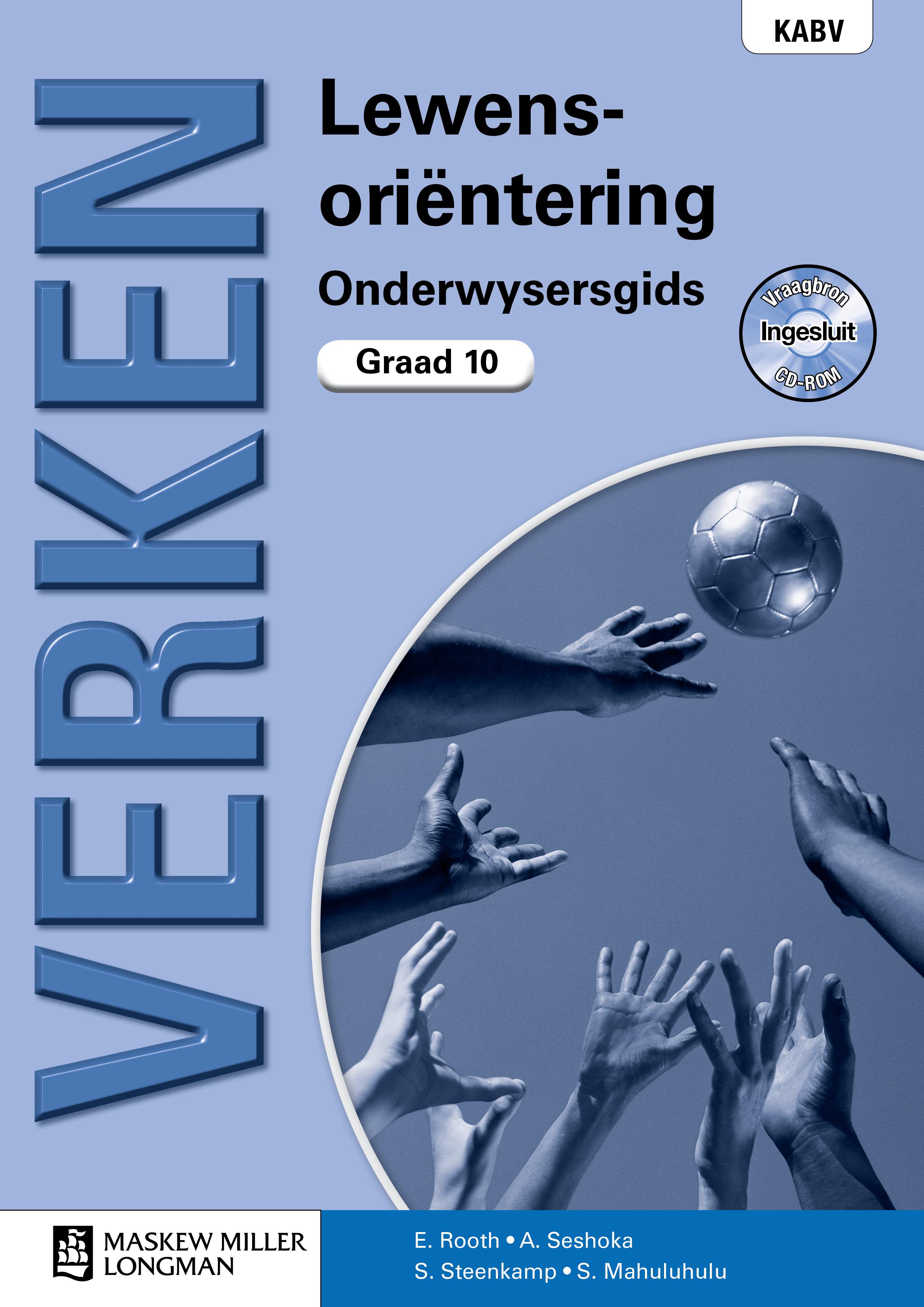 Picture of Verken lewensorientering: Gr 10: Onderwysersgids