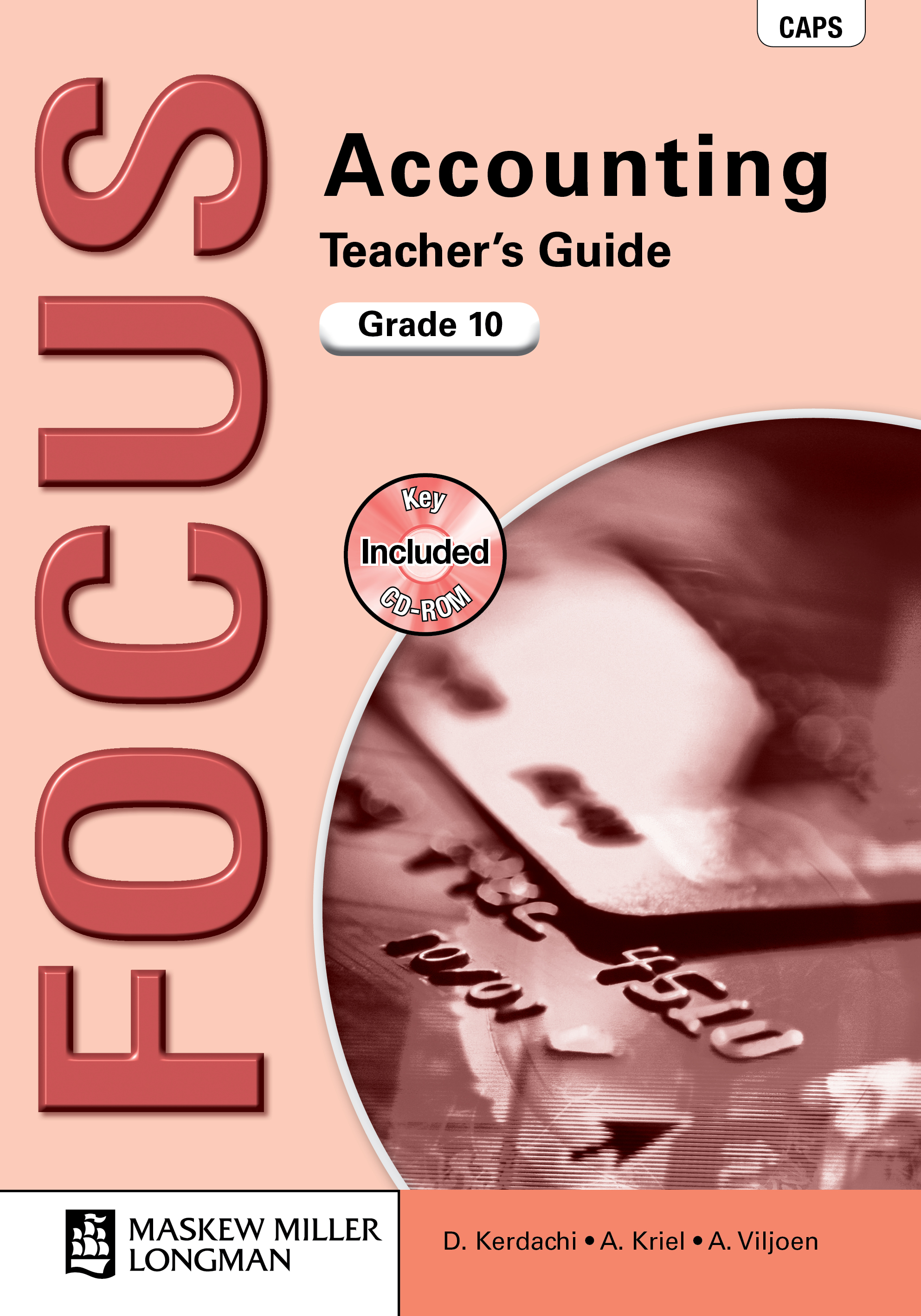 Picture of Focus accounting: Gr 10: Teacher's guide