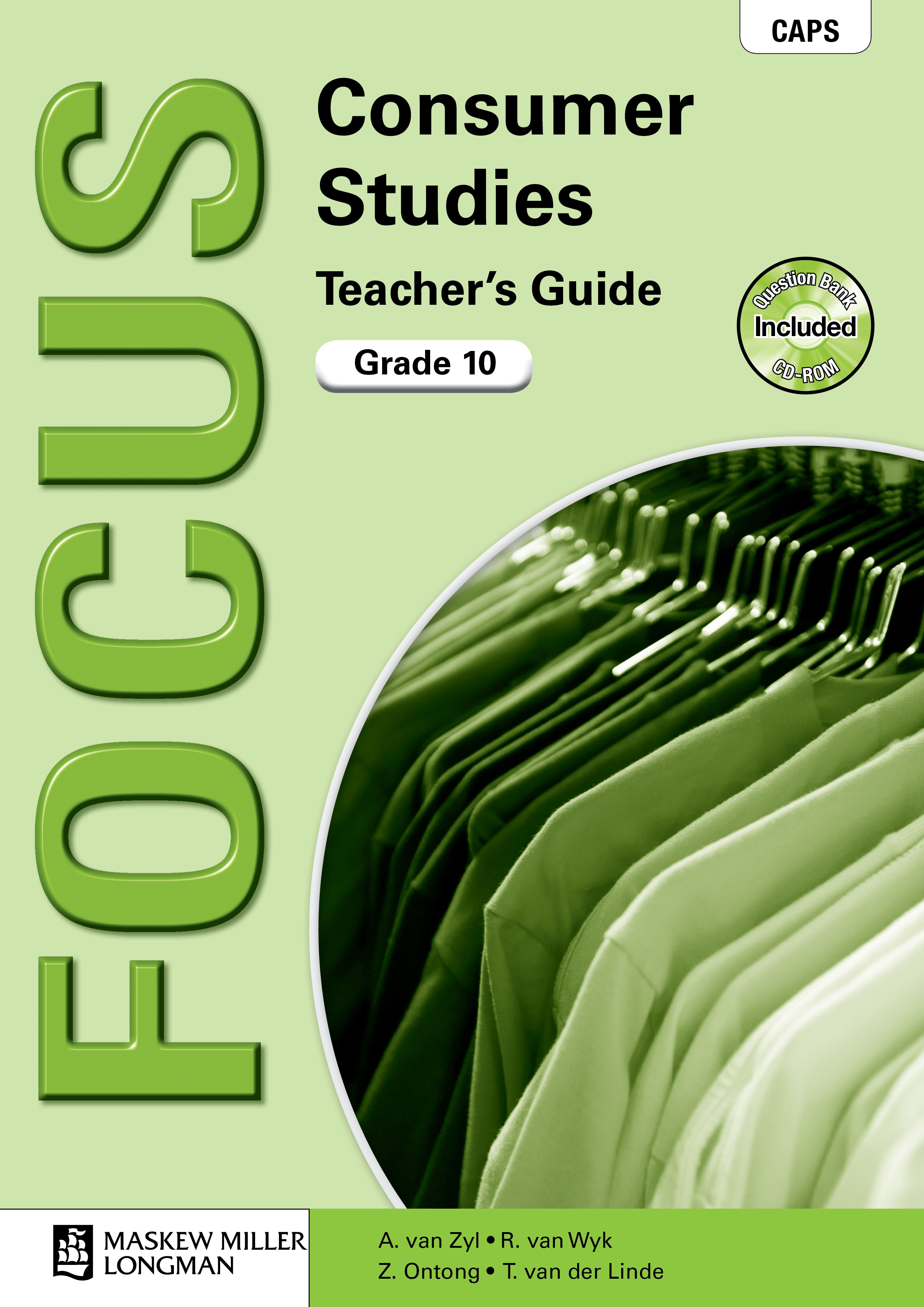 Picture of Focus consumer studies: Gr 10: Teacher's guide
