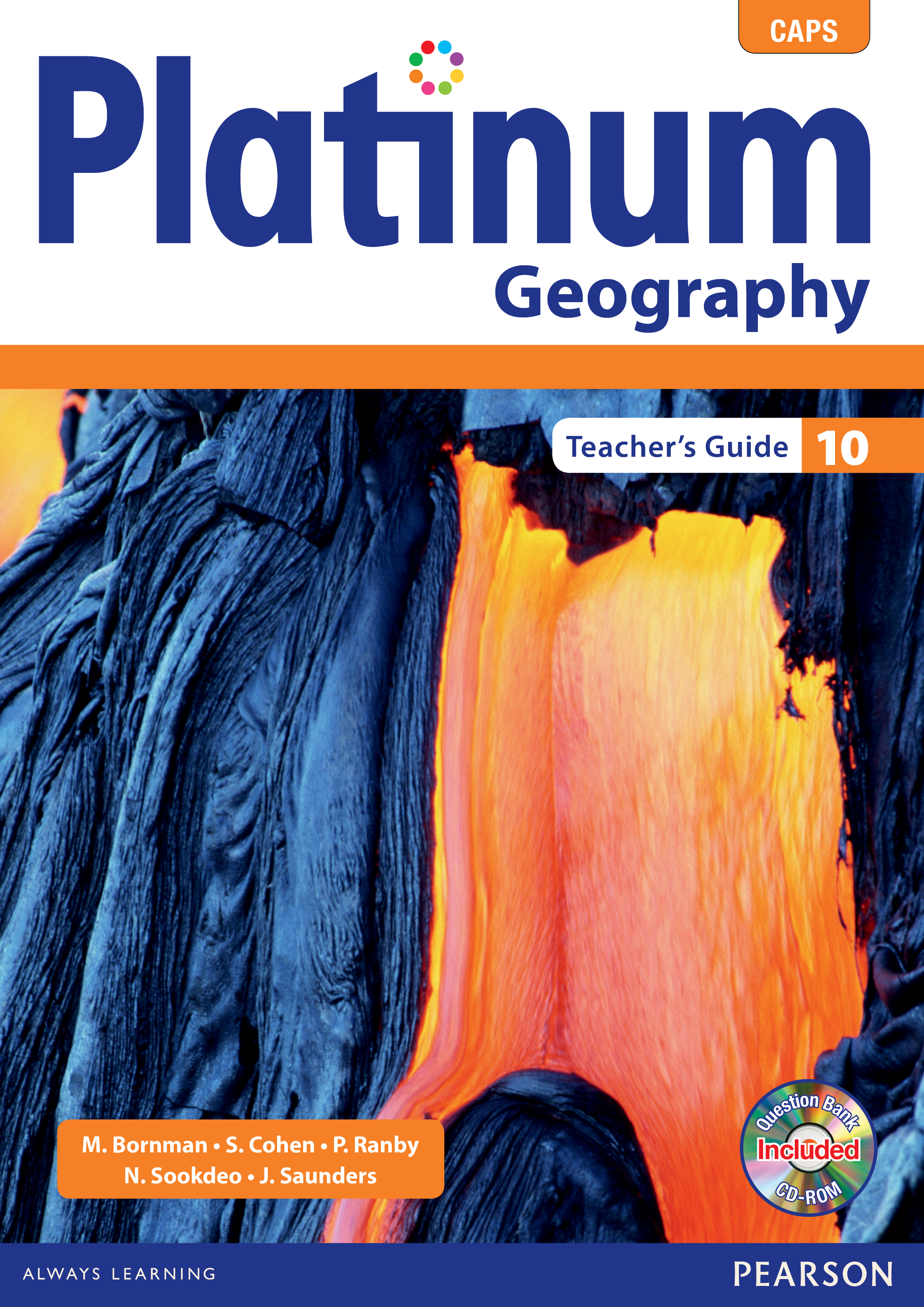 Picture of Platinum geography: Gr 10: Teacher's guide