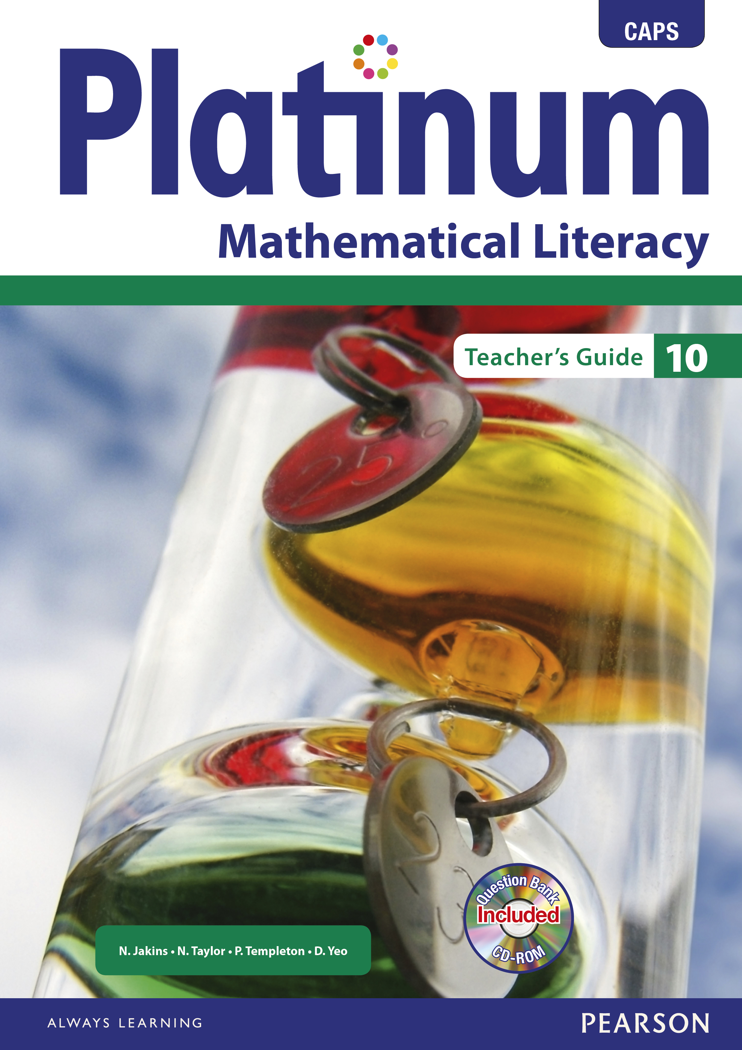 Picture of Platinum Mathematical Literacy: Platinum mathematical literacy: Gr 10: Teacher's guide Gr 10: Teacher's Guide