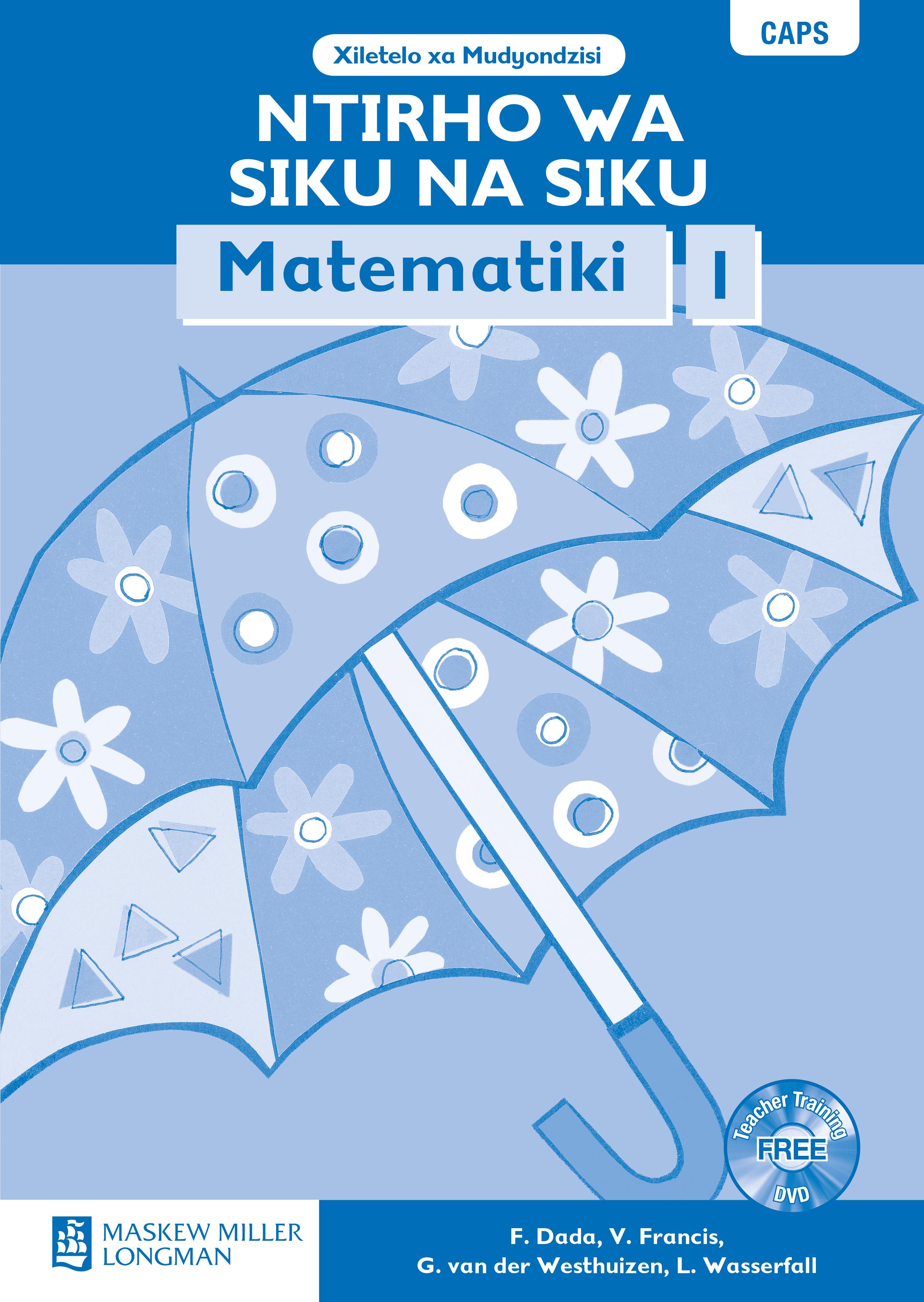 Picture of Ntirho wa siku na siku mtematiki: Gr 1: Teacher's guide