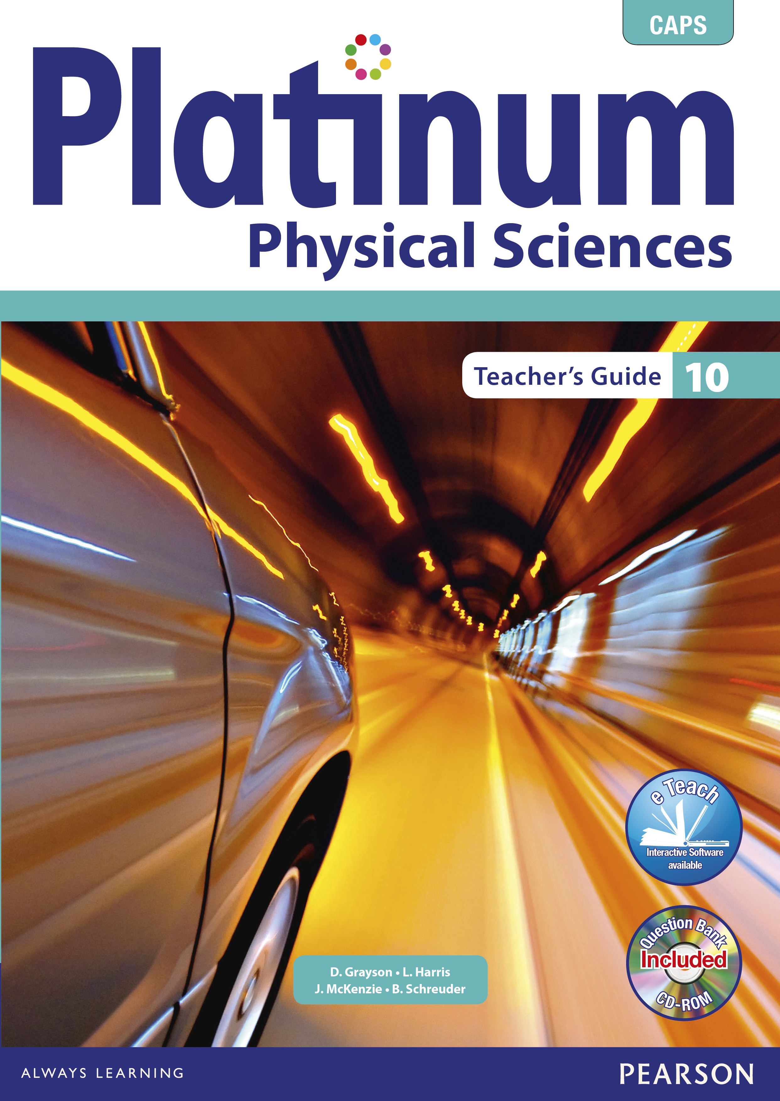 Picture of Platinum physical sciences: Gr 10: Teacher's guide