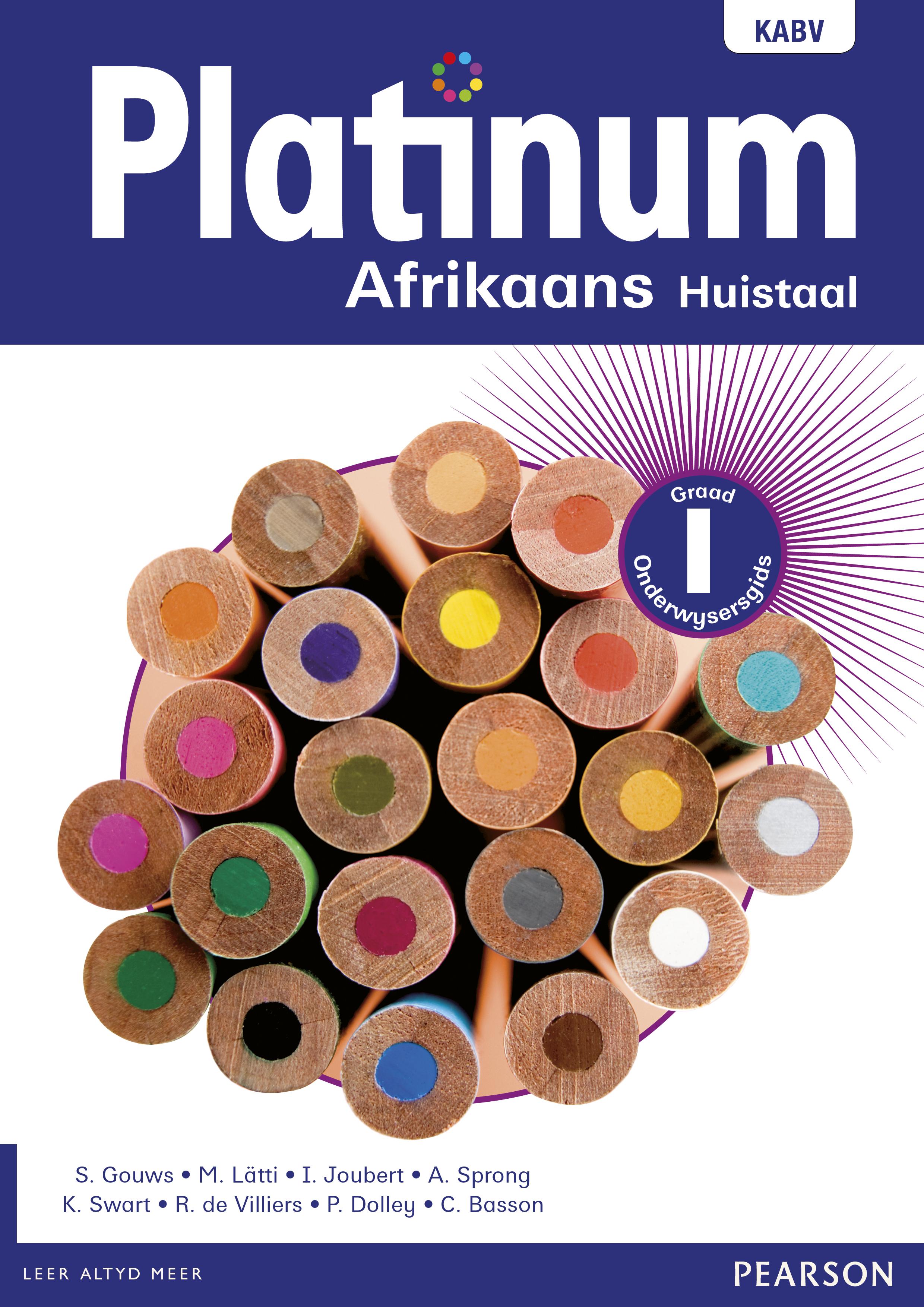 Picture of Platinum Afrikaans: Gr 1: Onderwysersgids : Huistaal