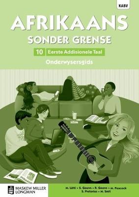 Picture of Afrikaans sonder grense: Gr 10: Onderwysersgids : Eerste addisionele taal