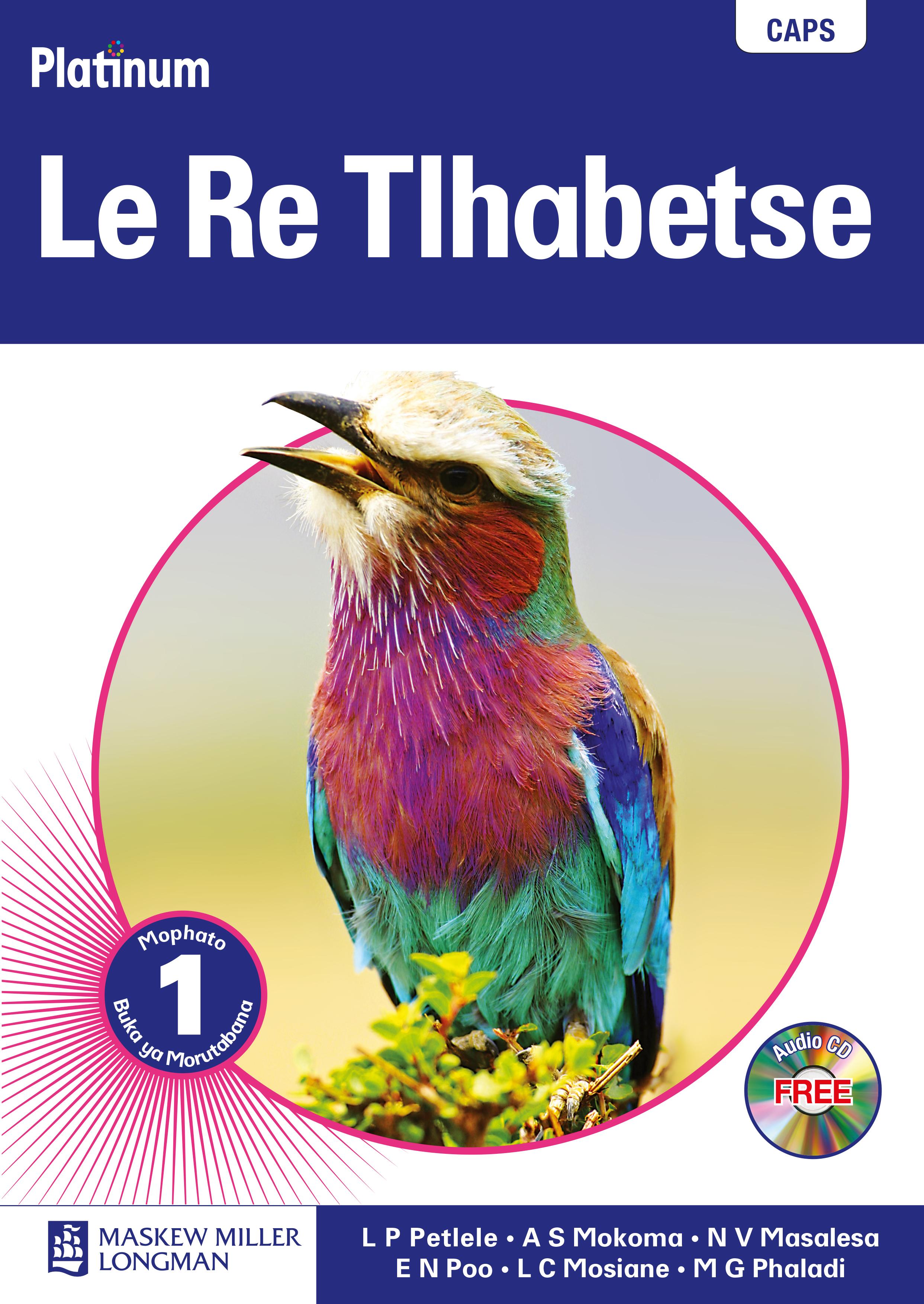 Picture of Platinum  le re tlhabetse: Gr 1: Teacher's guide : Home language
