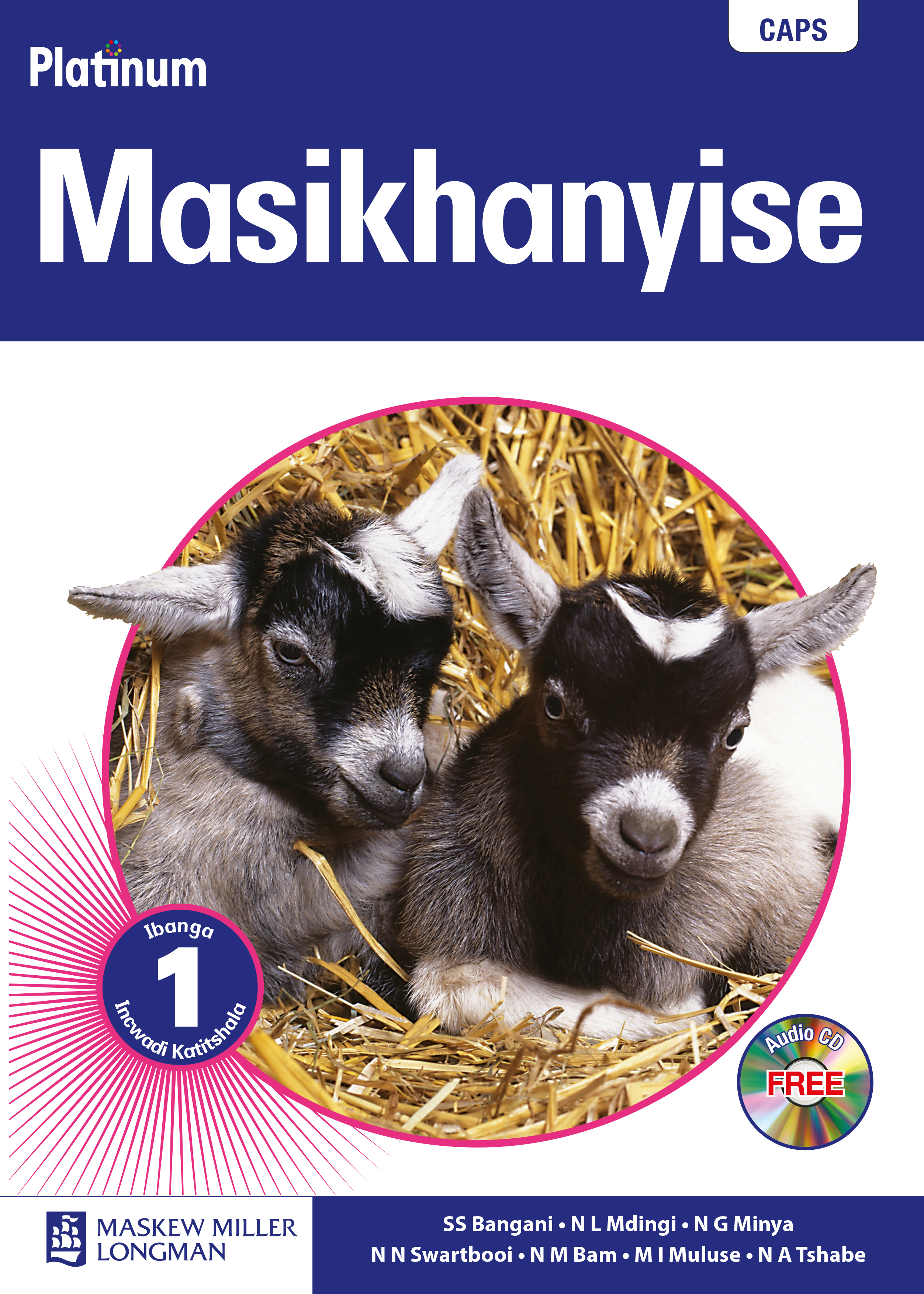 Picture of Platinum Masikhanyise: Platinum masikhanyise: Gr 1: Teacher's guide Gr 1: Teacher's Guide