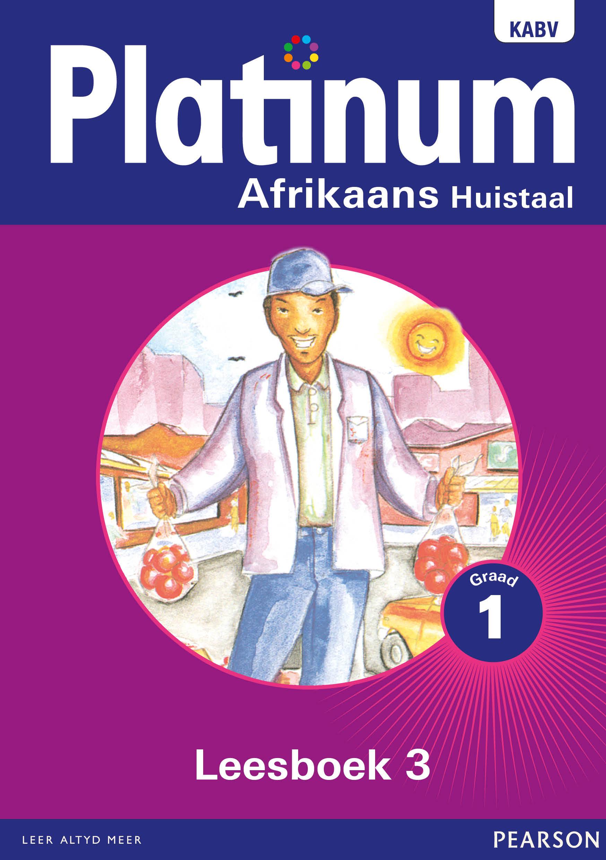 Picture of Platinum Afrikaans : Gr 1: Leesboek 3 : Huistaal