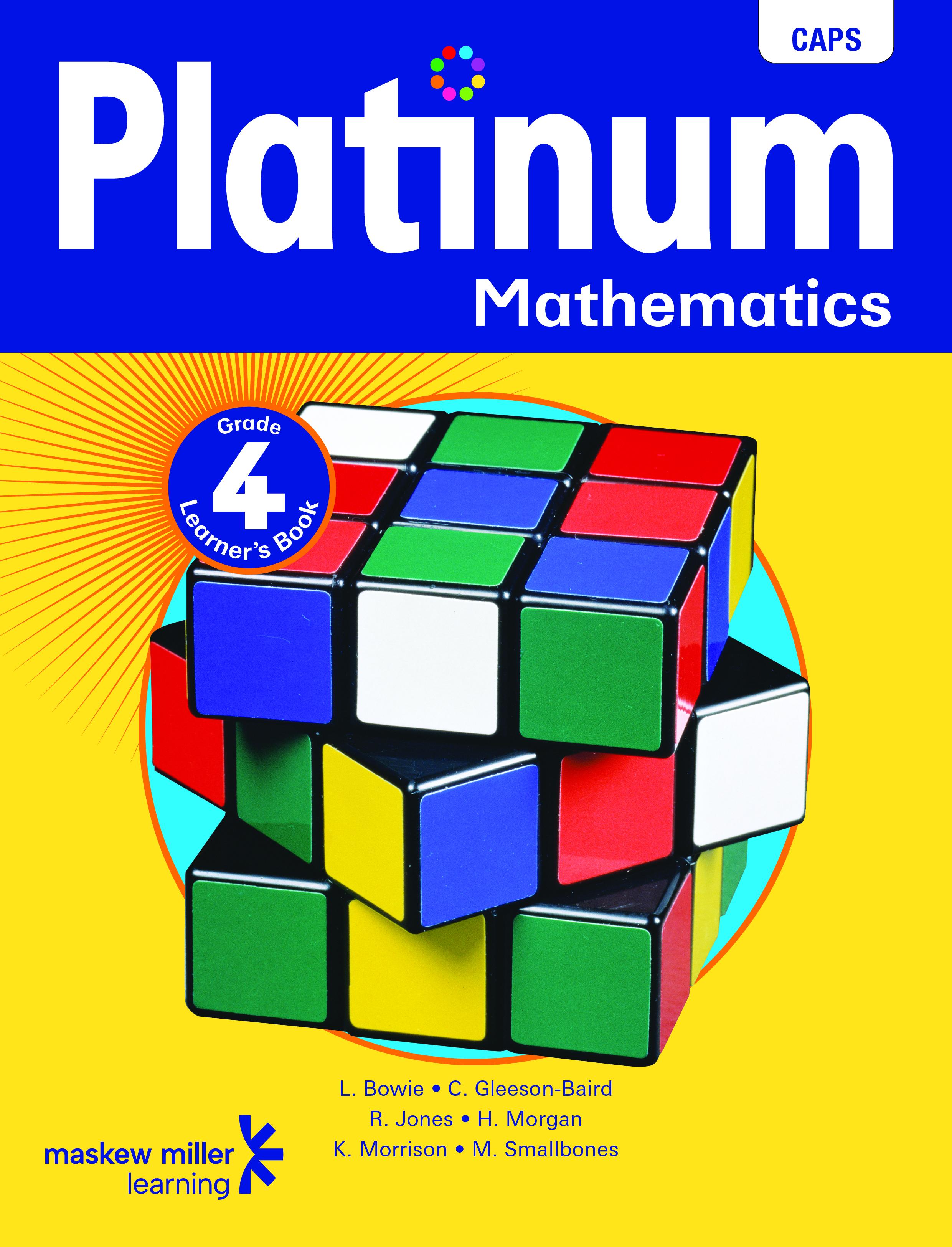 Picture of Platinum mathematics CAPS