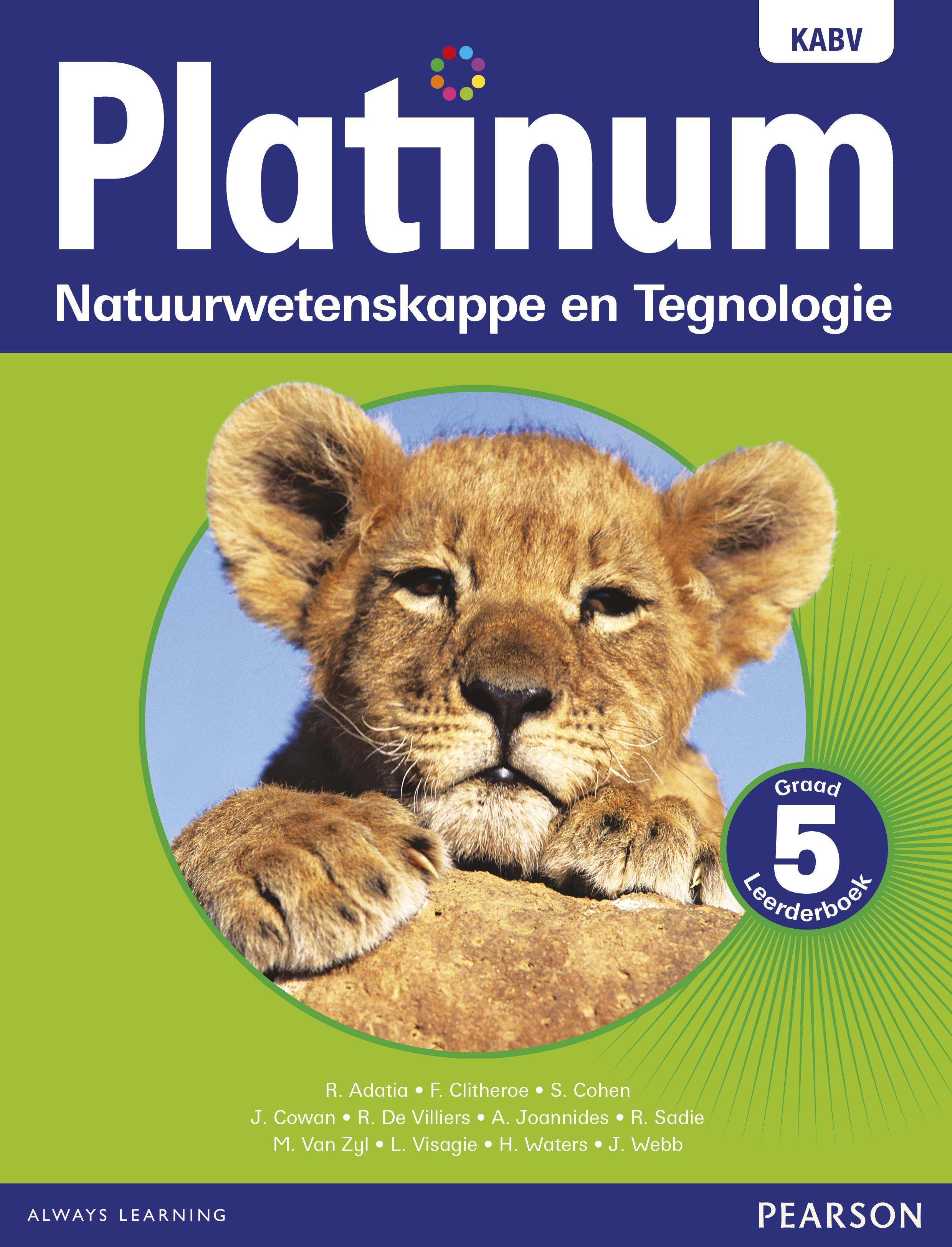 Picture of Platinum Natuurwetenskappe En Tegnologie NKABV: Platinum natuurwetenskappe en tegnologie: Graad 5: Leerderboek Gr 5: Leerdersboek