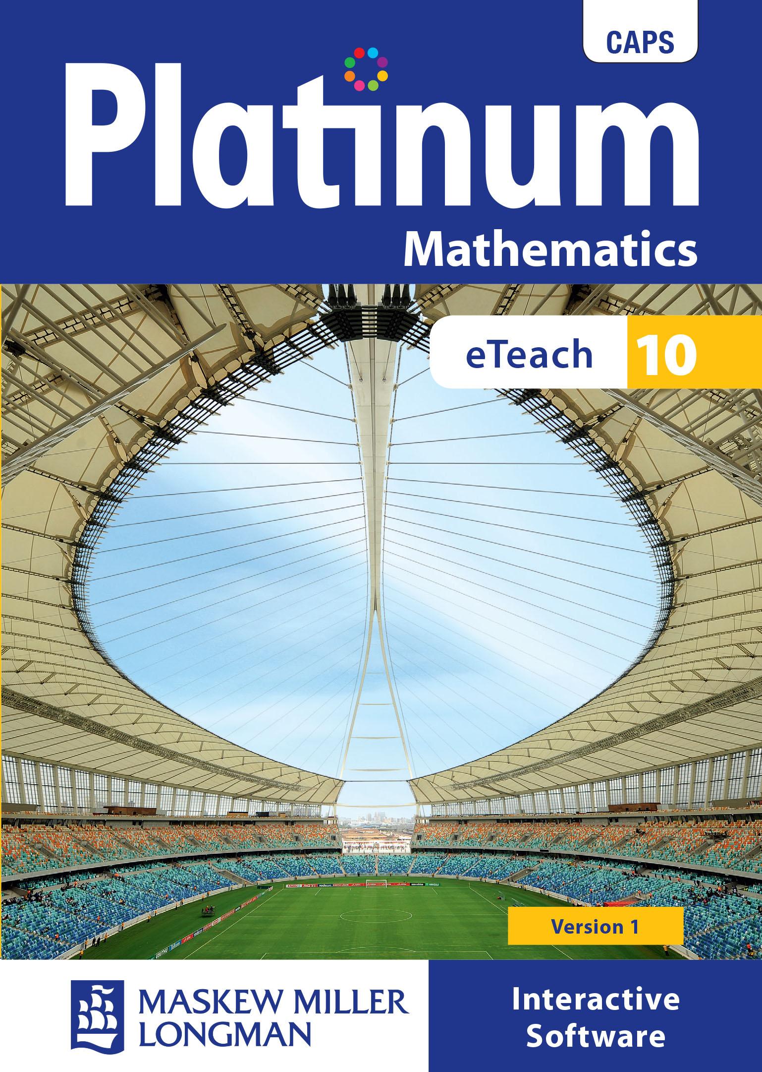 Platinum Mathematics: Grade 10: eTeach