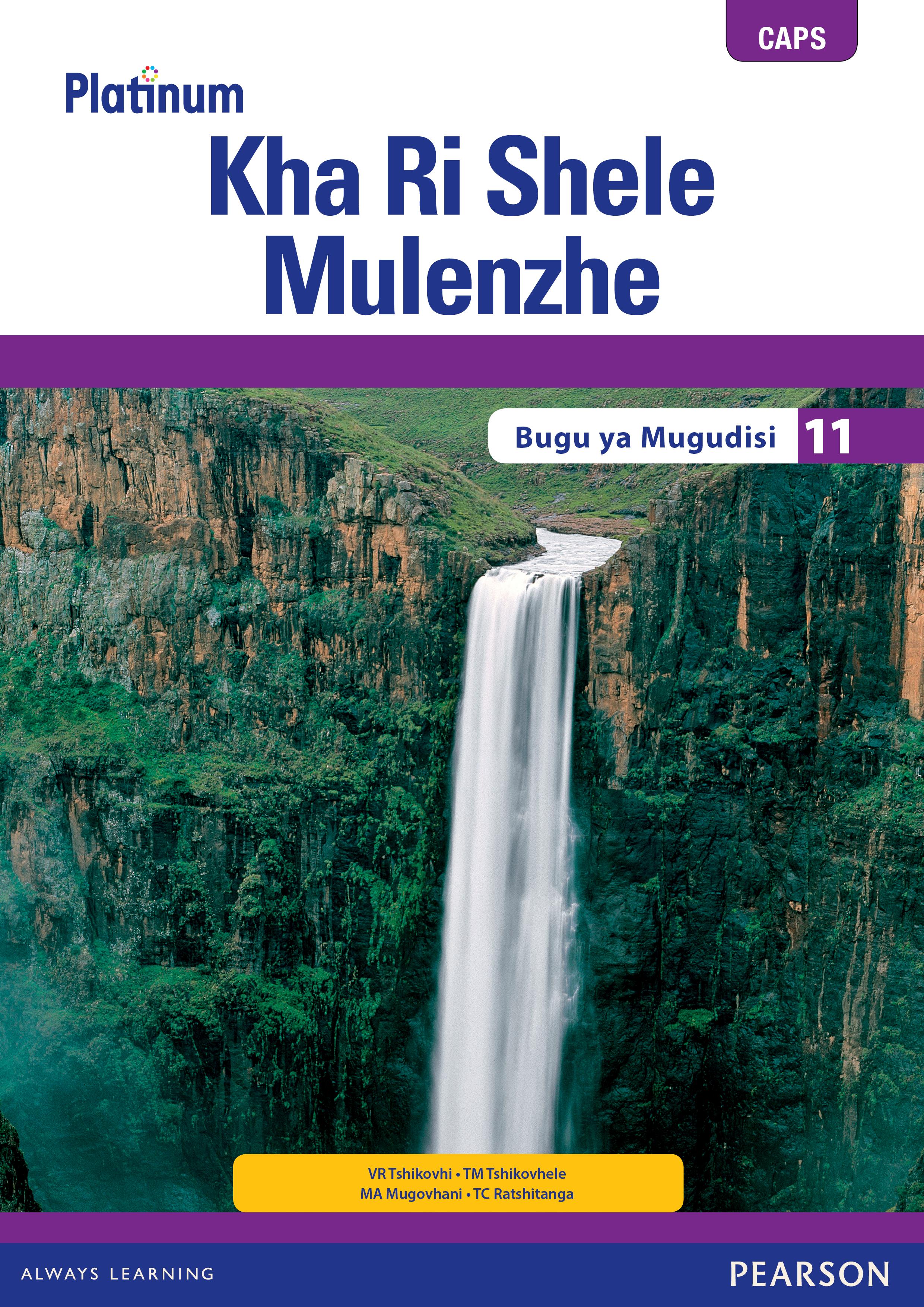 Picture of Platinum kha ri shele mulenzhe CAPS: Gr 11: Teacher's guide