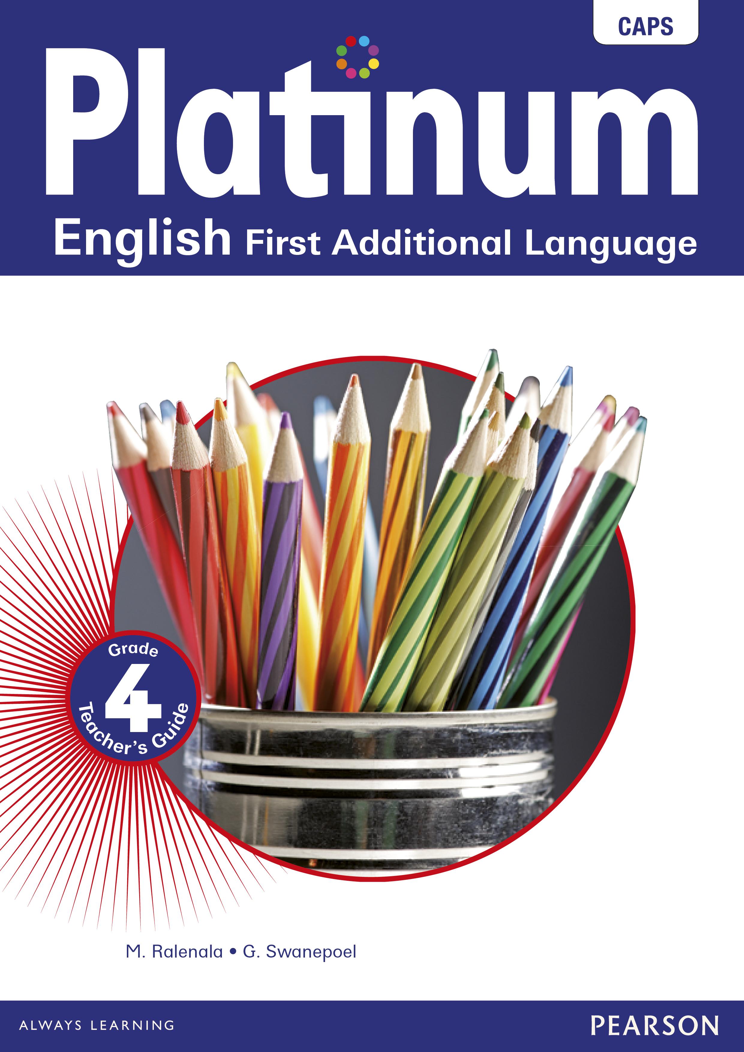 Picture of Platinum English CAPS: Platinum English CAPS: Gr 4: Teacher's guide Gr 4: Teacher's Guide