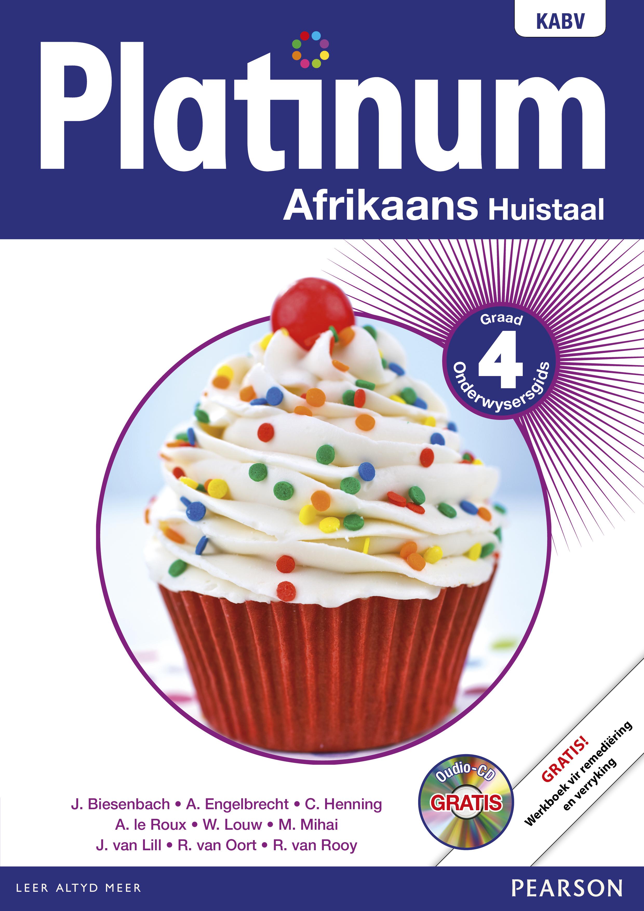 Picture of Platinum Afrikaans NKABV: Platinum Afrikaans NKABV: Gr 4: Onderwysersgids Gr 4: Onderwysersgids