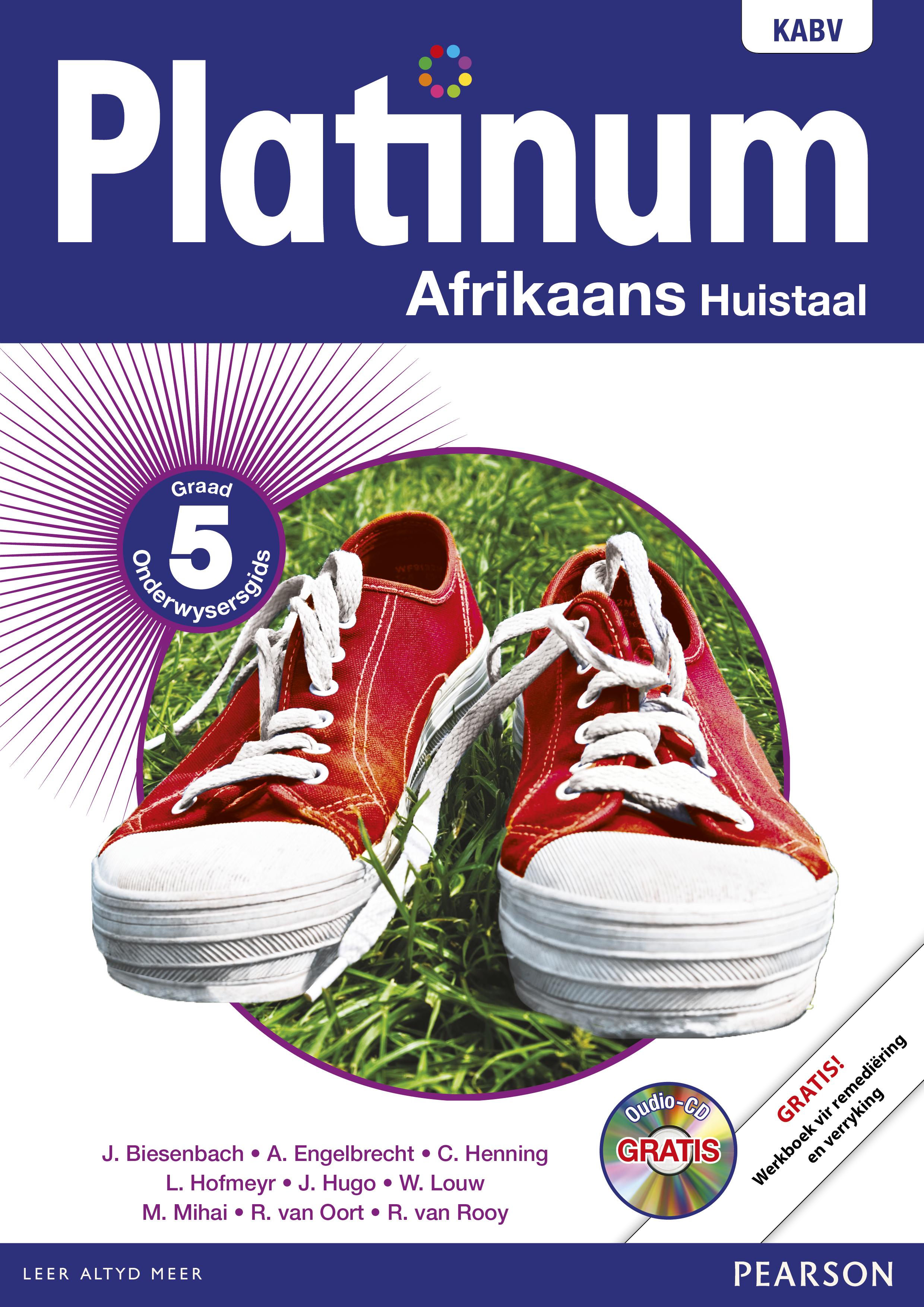 Picture of Platinum Afrikaans NKABV: Gr 5: Onderwysersgids : Huistaal