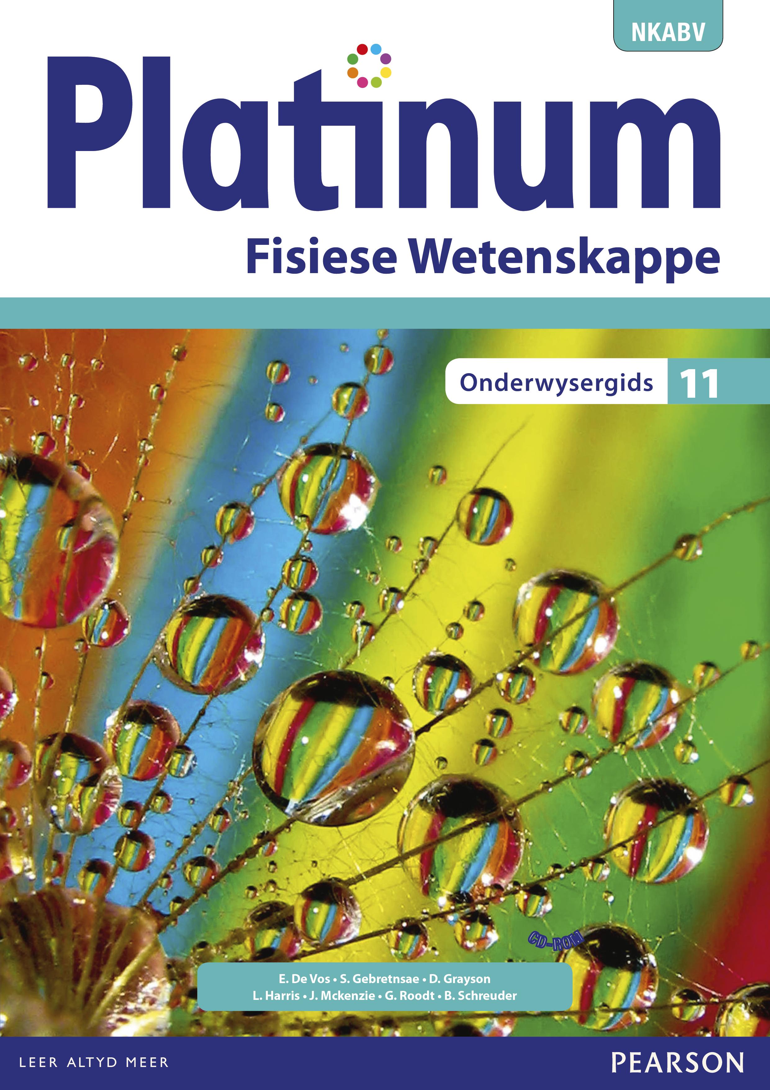 Picture of Platinum Fisiese Wetenskappe NKABV: Platinum fisiese wetenskappe NKABV: Gr 11: Onderwysersgids Gr 11: Onderwysersgids