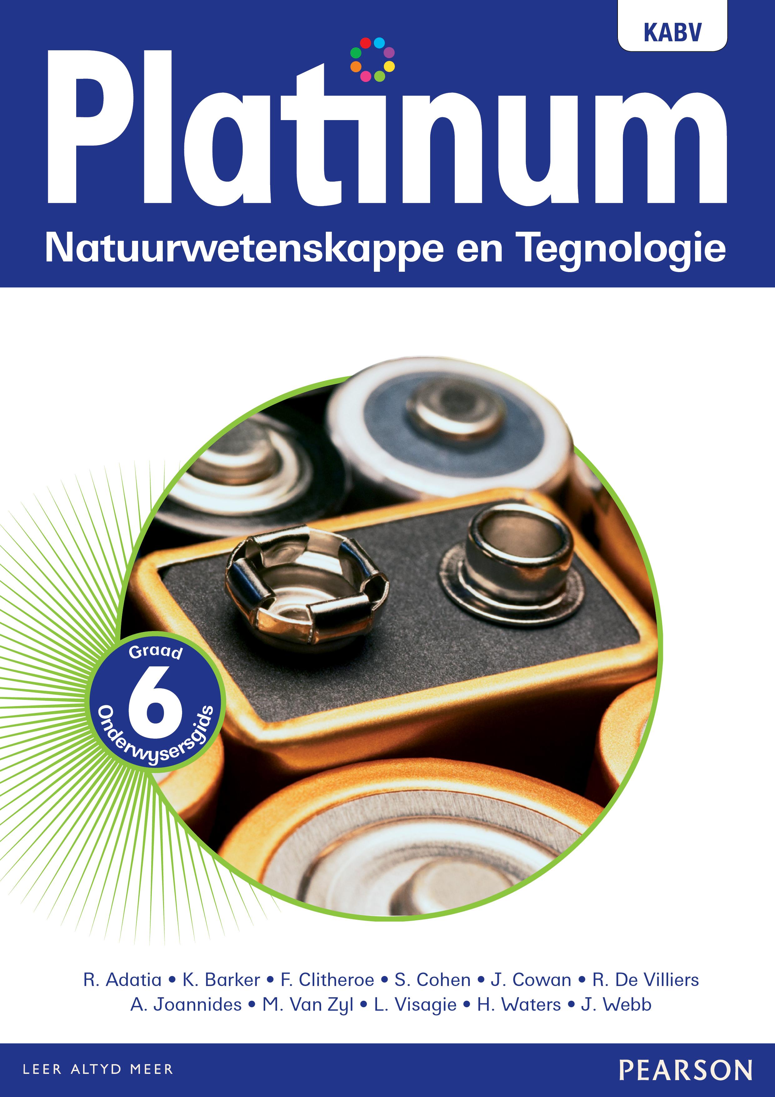 Picture of Platinum natuurwetenskappe en tegnologie NKABV