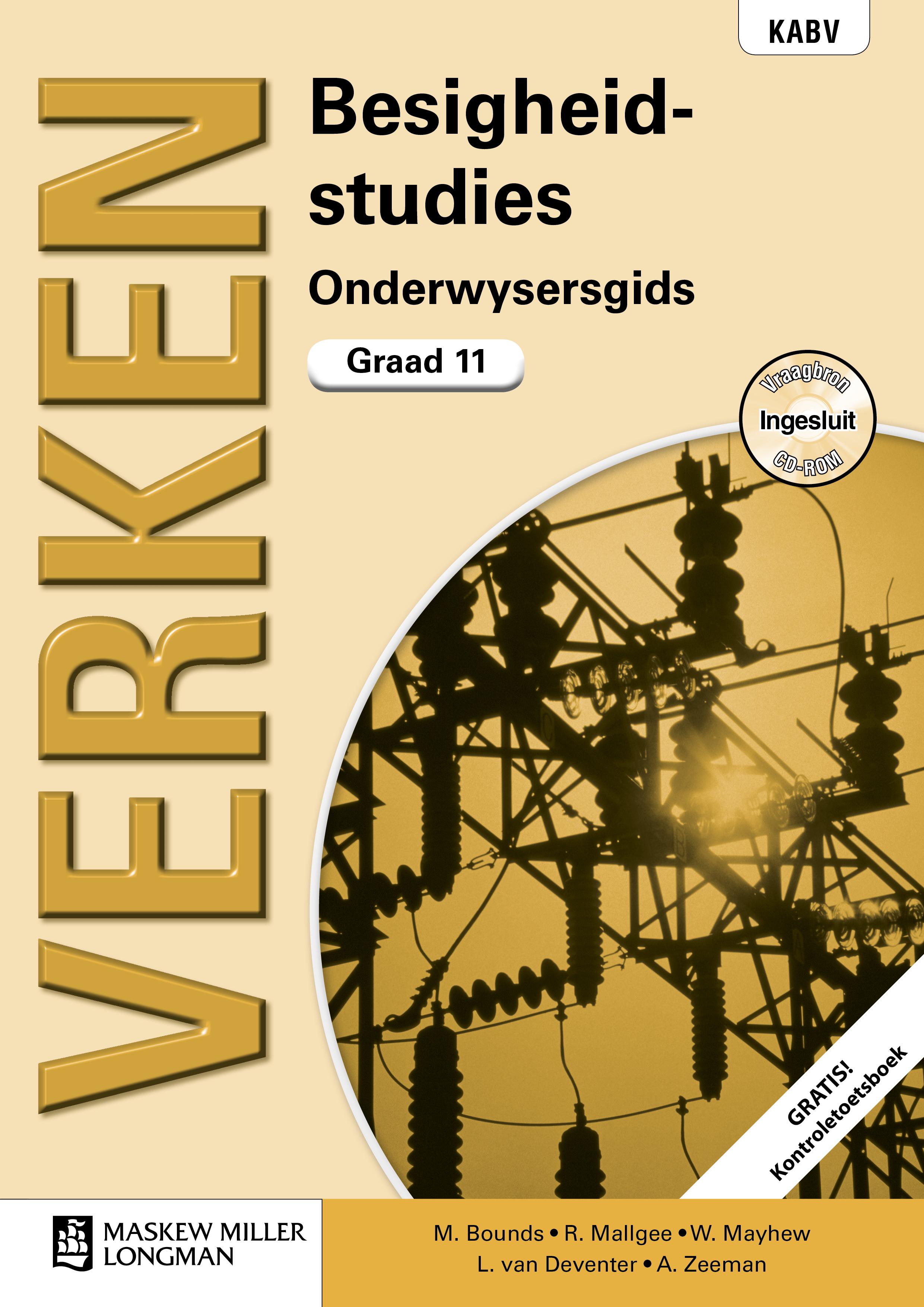 Verken Besigheidstudies: Grade 11: Onderwysersgids (met Kontroletoetsboek en Vraagbron CD-ROM)