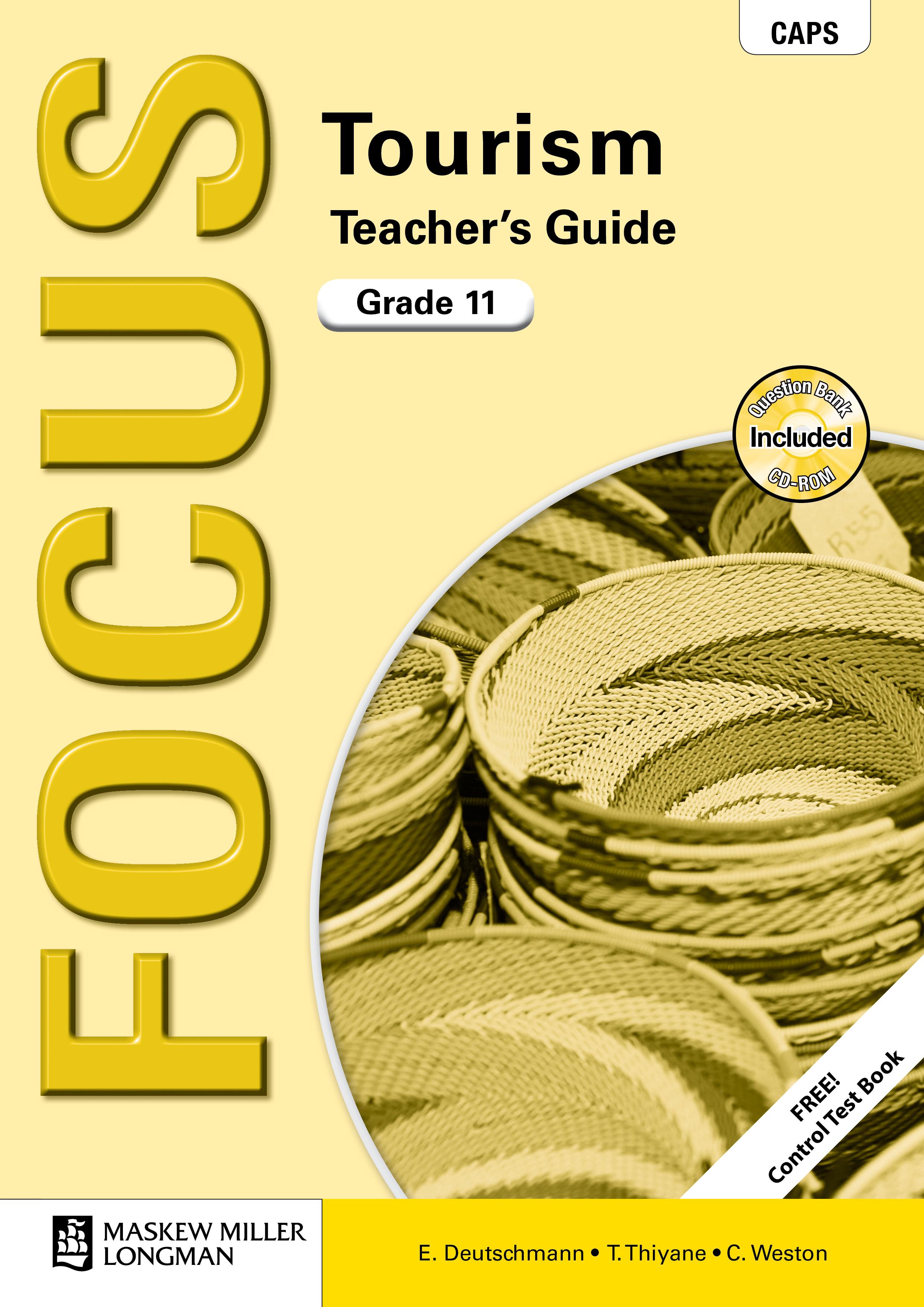 Picture of Focus tourism CAPS: Gr 11: Teacher's guide
