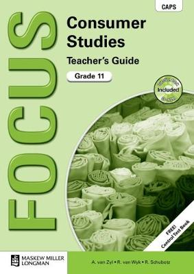 Picture of Focus consumer studies CAPS: Gr 11: Teacher's guide