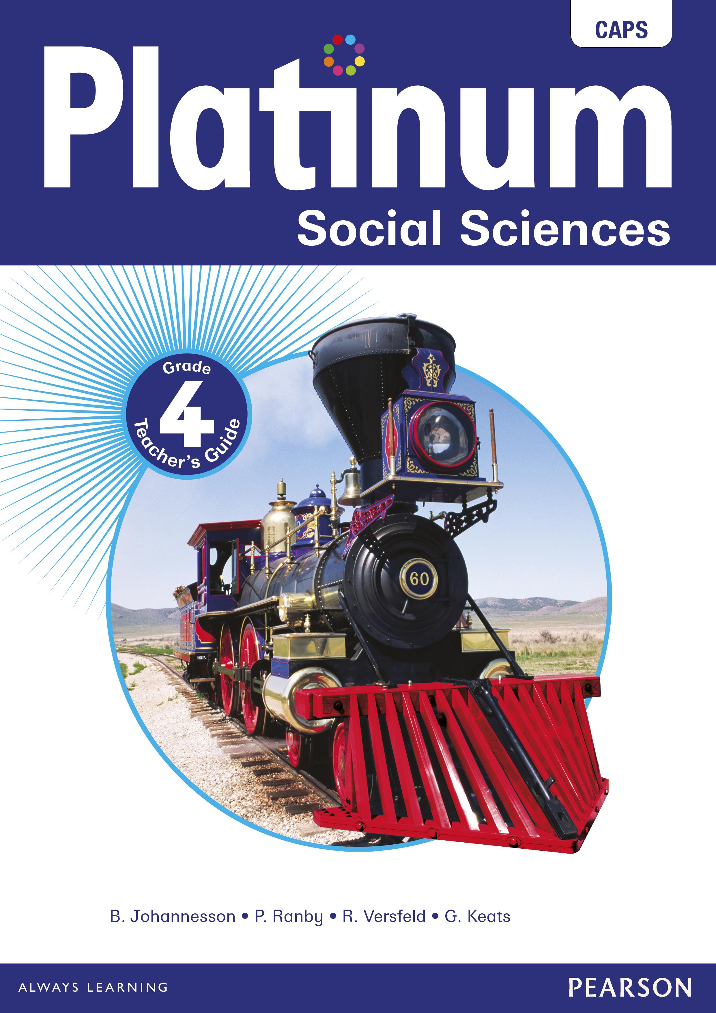 Picture of Platinum social sciences CAPS: Gr 4: Teacher's guide