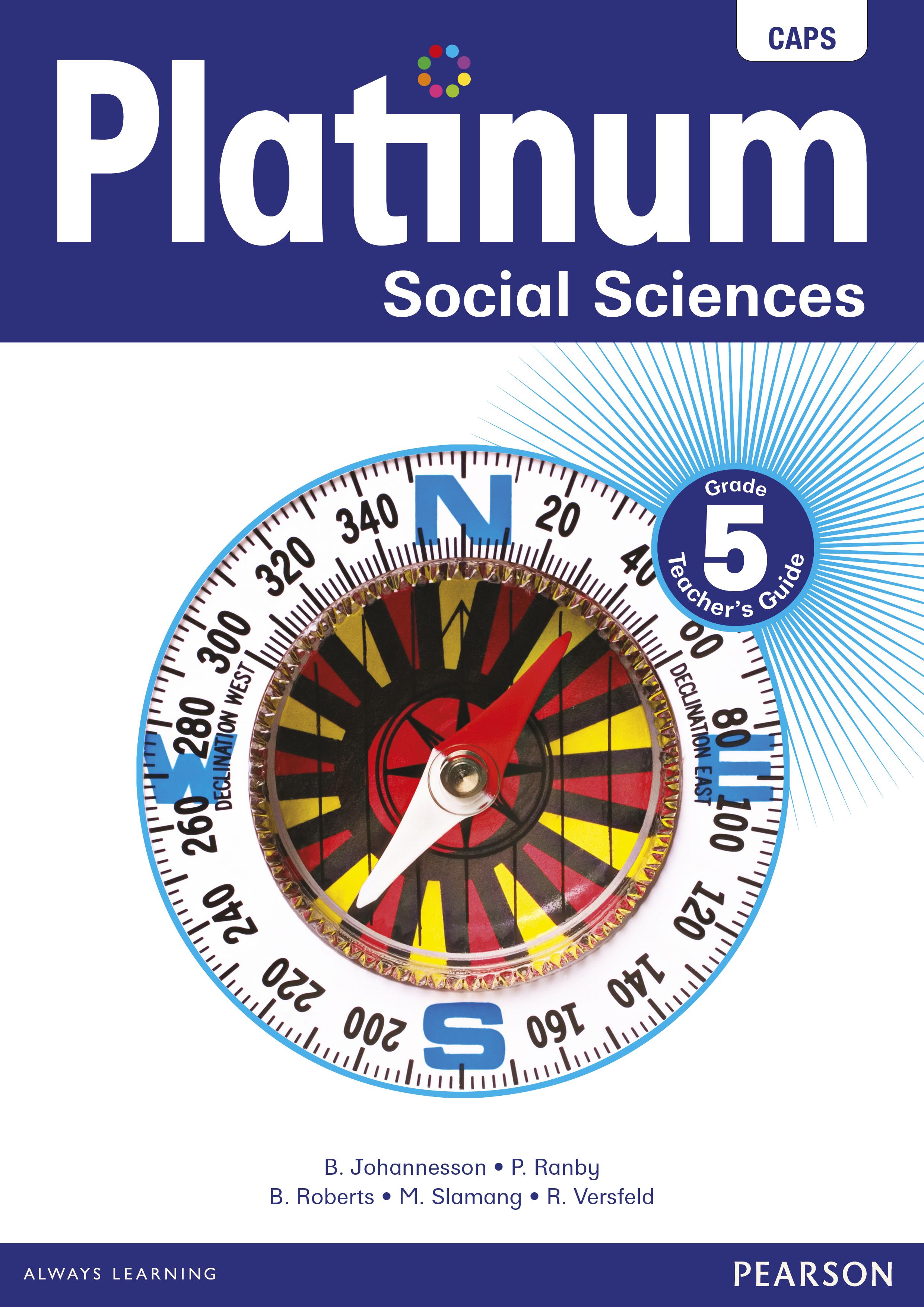 Platinum social sciences CAPS: Gr 5: Teacher's guide