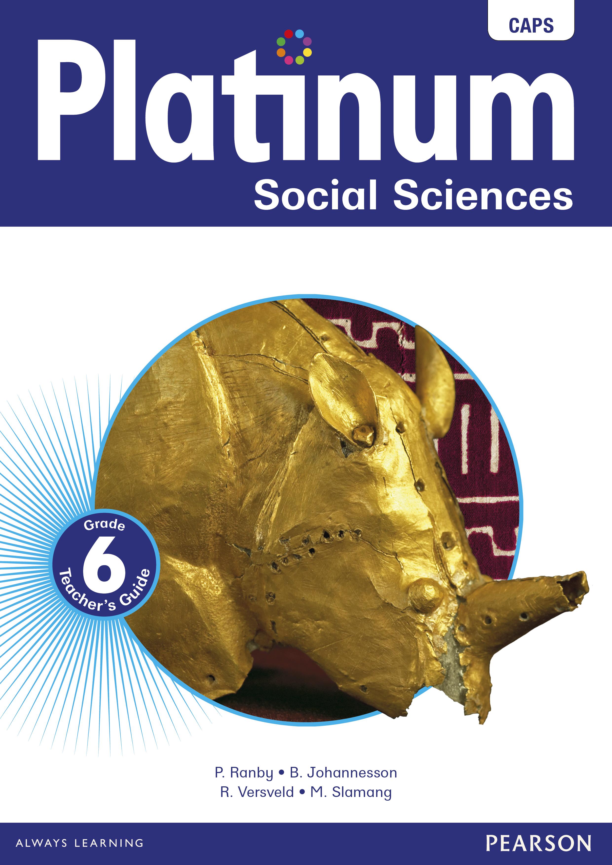Picture of Platinum social sciences CAPS: Gr 6: Teacher's guide