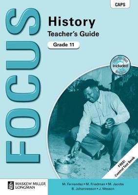 Picture of Focus history CAPS: Gr 11: Teacher's guide