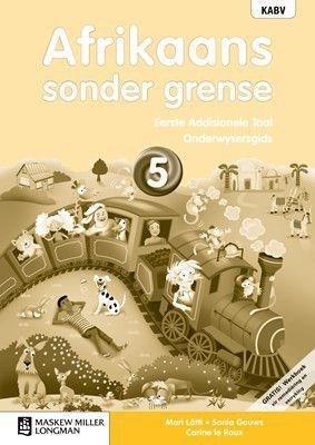 Picture of Afrikaans sonder grense Eerste Addisionele Taal: Grade 5: Onderwysersgids (met Werkboek en Oudio-CD)