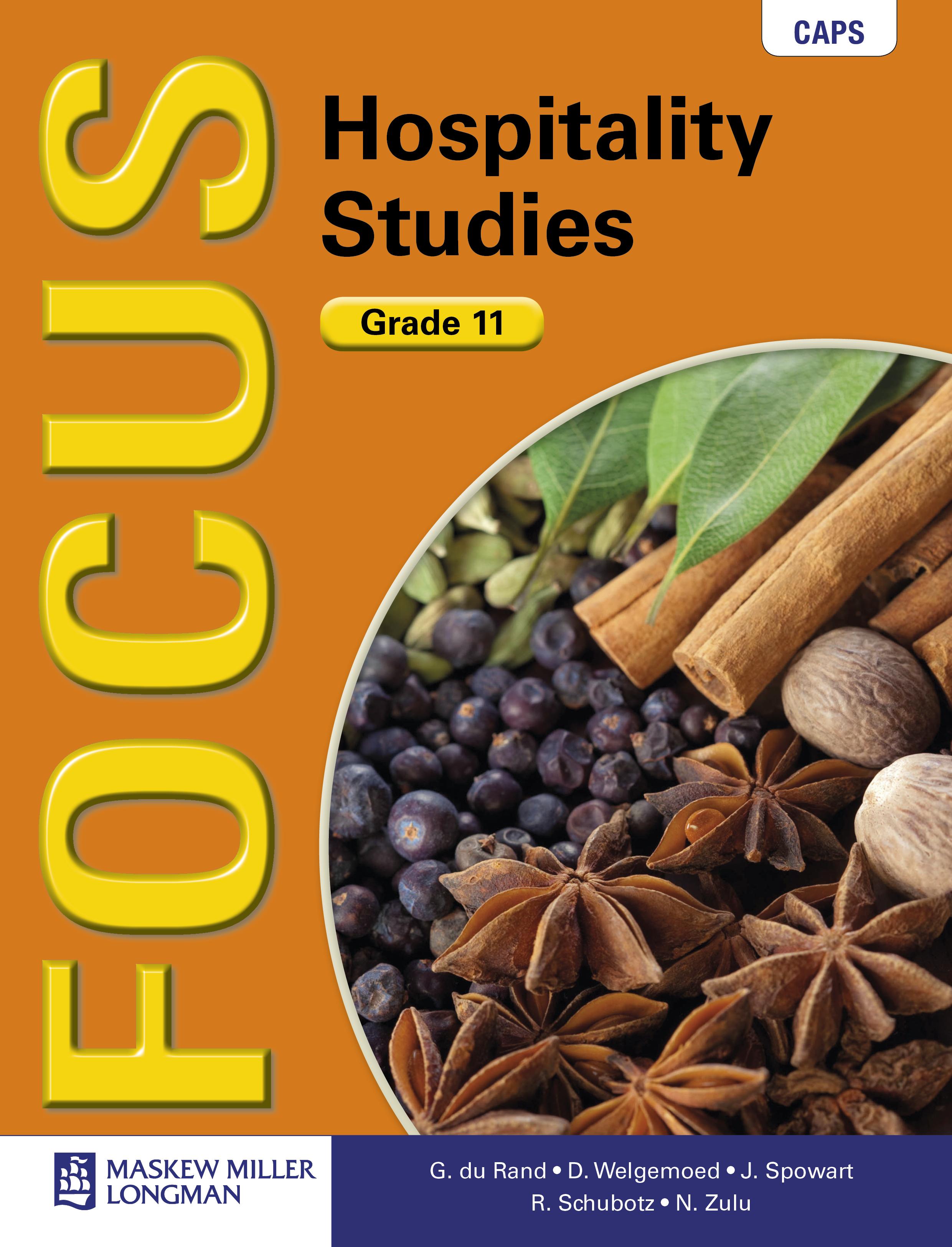 Picture of Focus hospitality studies CAPS
