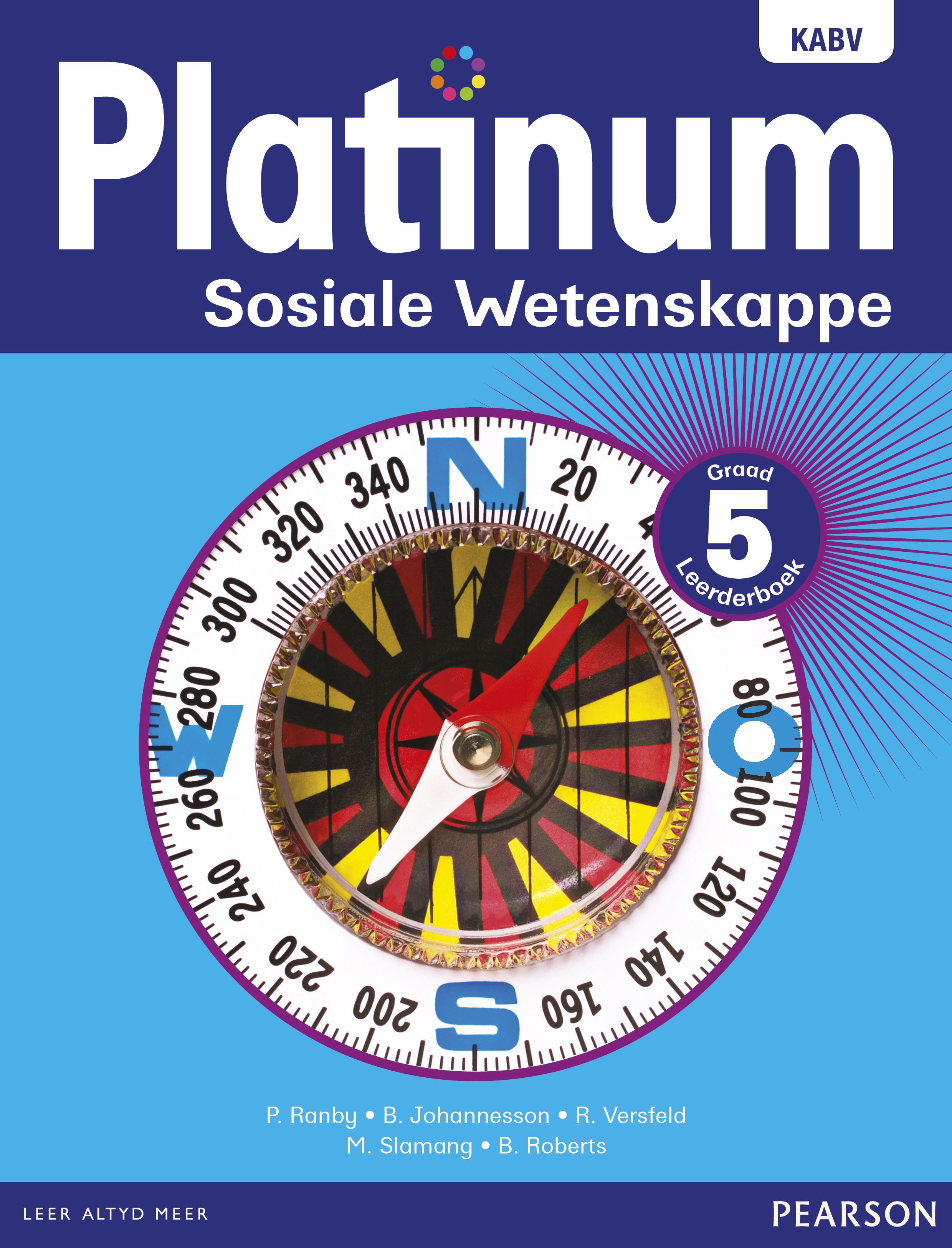 Picture of Platinum Sosiale Wetenskappe NKABV - Graad 5 Leerderboek