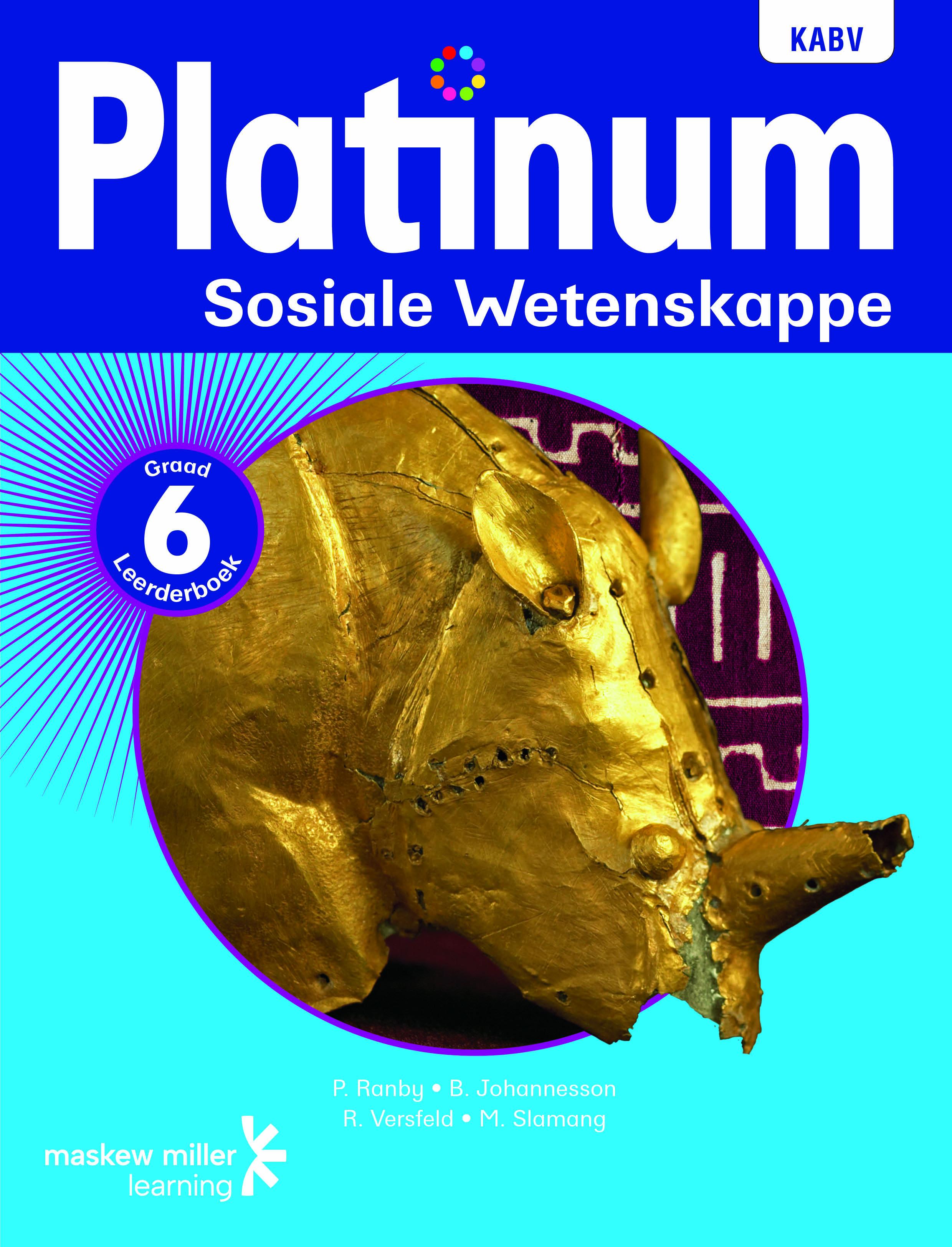 Picture of Platinum sosiale wetenskappe NKABV