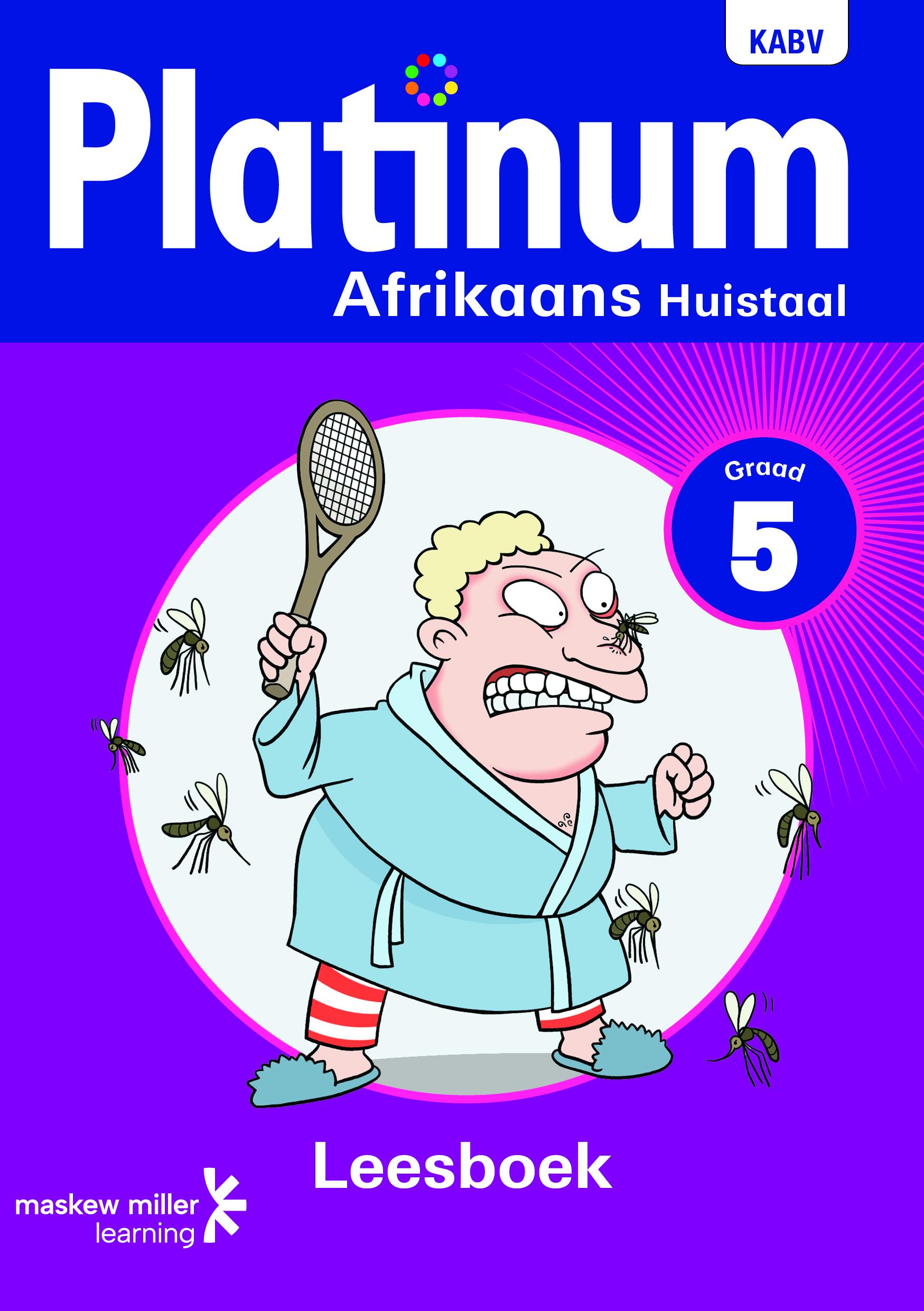 Picture of Platinum Afrikaans Huistaal NKABV - Graad 5 Leesboek