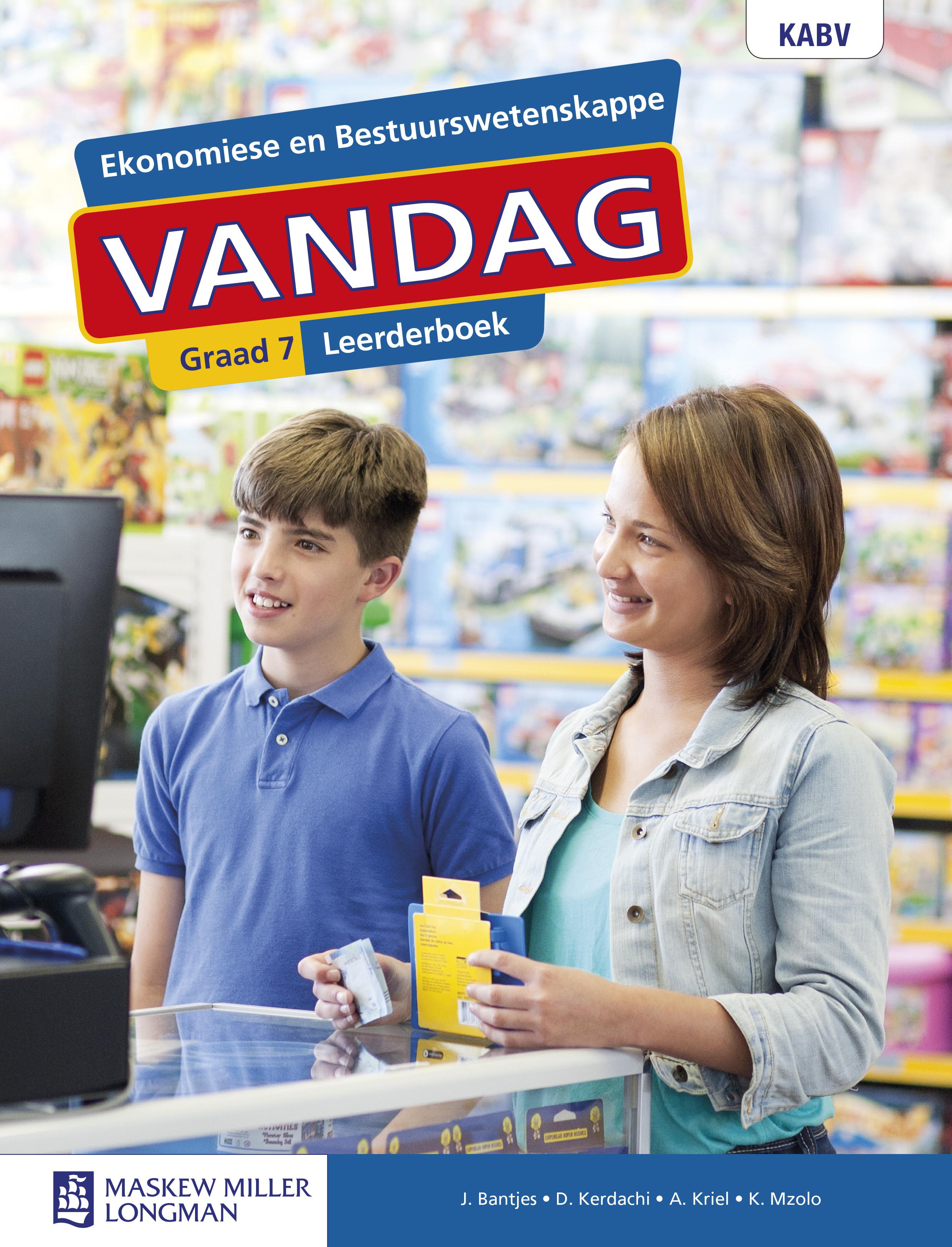 Picture of Ekonomiese en Bestuurswetenskappe Vandag: Graad 7: Leerderboek