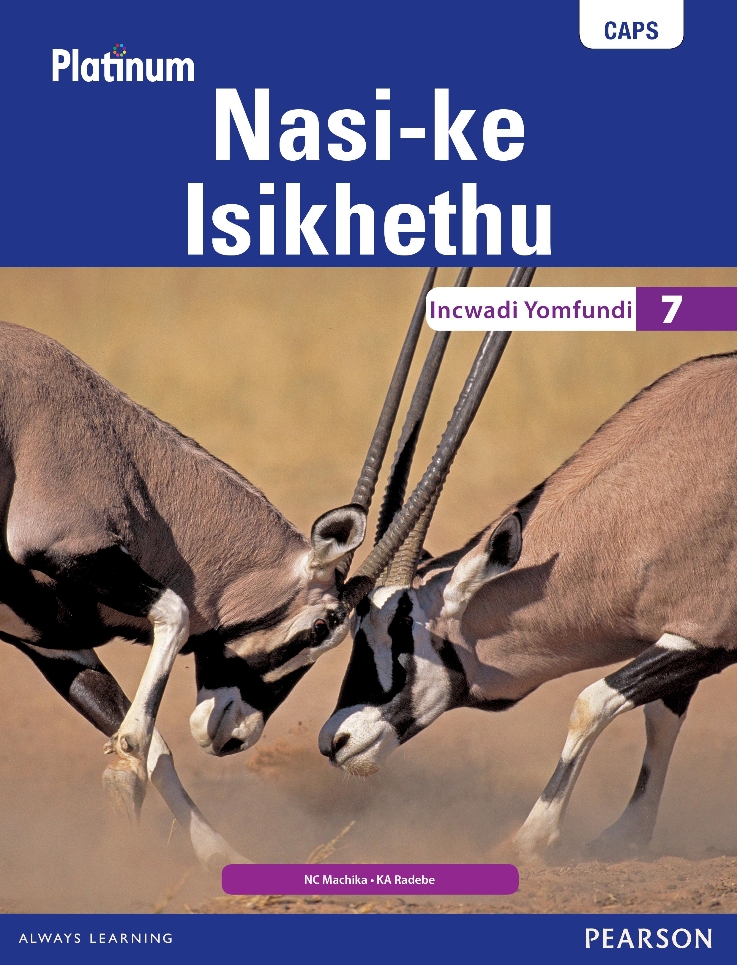 Picture of Platinum Nasi-ke Isikhethu: Grade 7: Learner's book