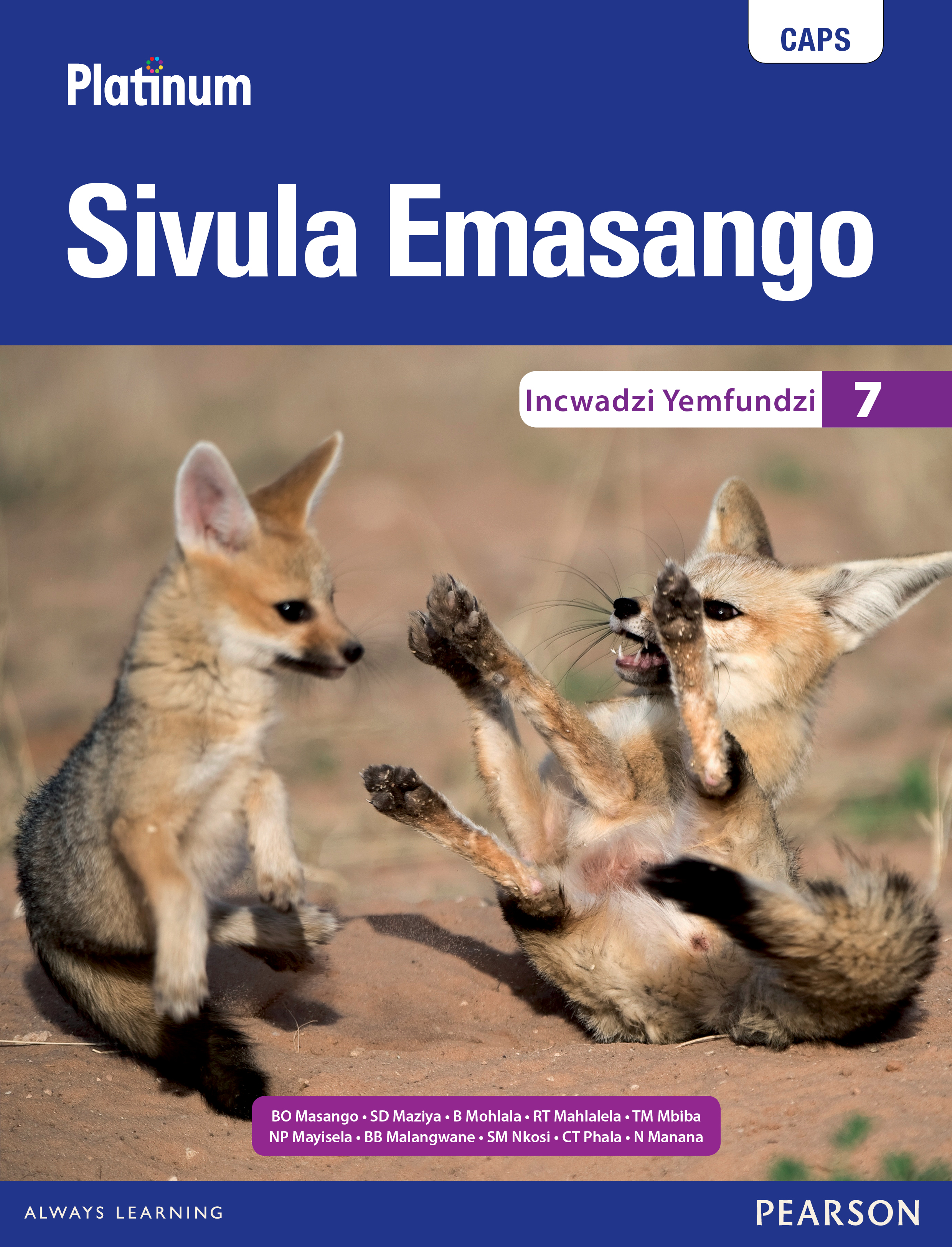 Picture of Platinum Sivula Emasango CAPS: Platinum Sivula Emasango: Grade 7: Learner's book Gr 7: Learner's Book