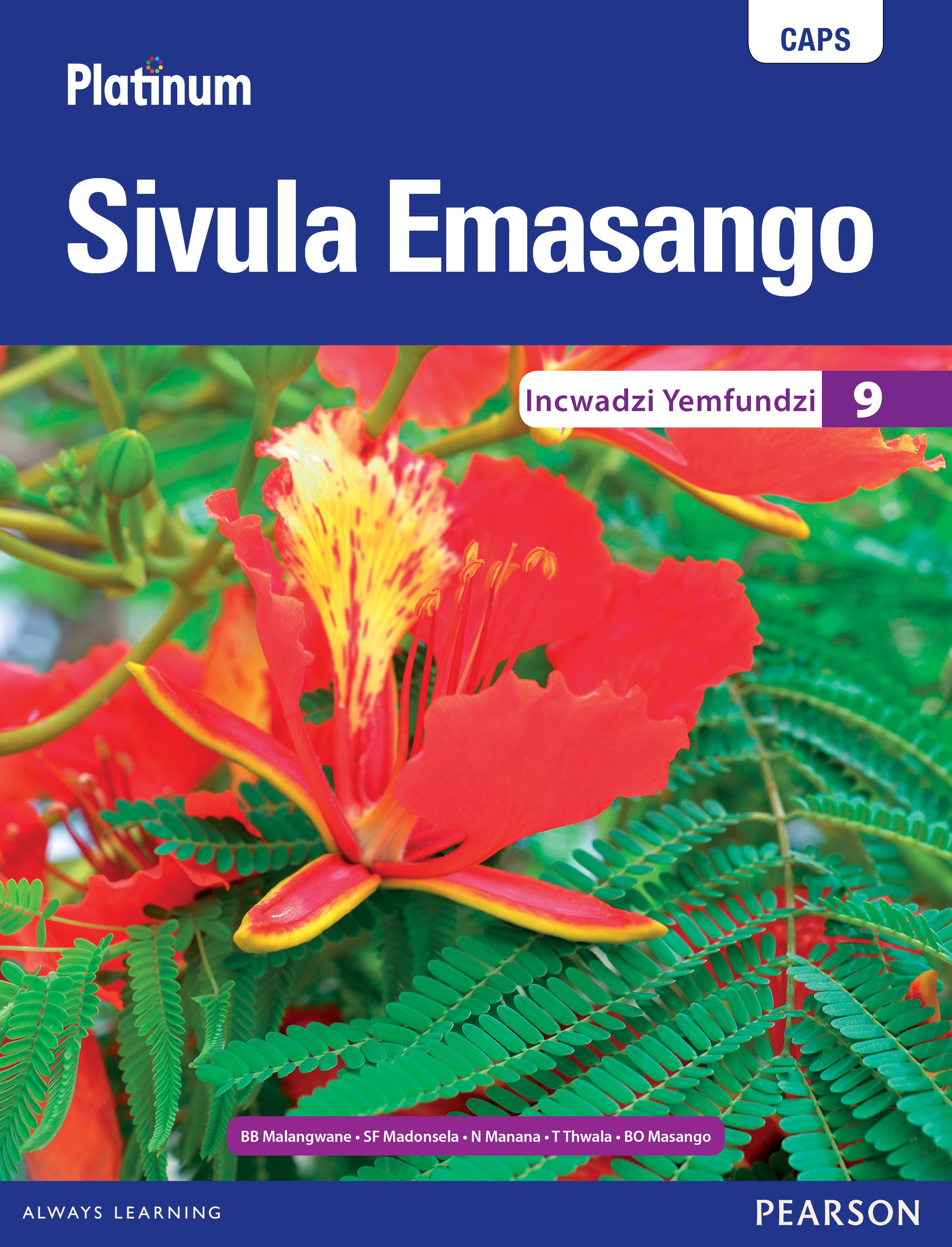 Picture of Platinum Sivula Emasango CAPS: Platinum Sivula Emasango: Grade 9: Learner's book Gr 9: Learner's Book